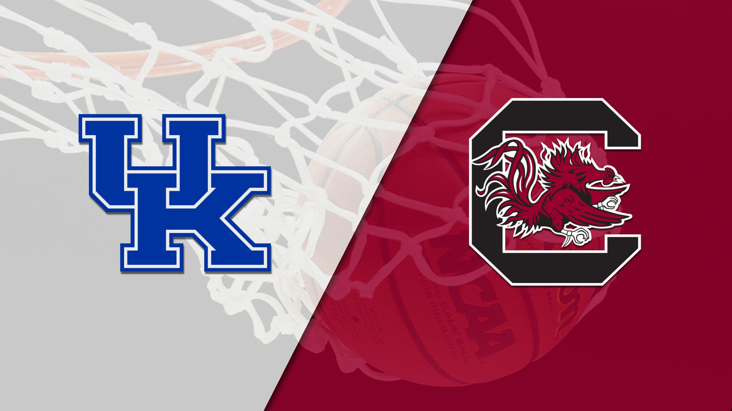 Kentucky vs. #8 South Carolina (W Basketball) (re-air)