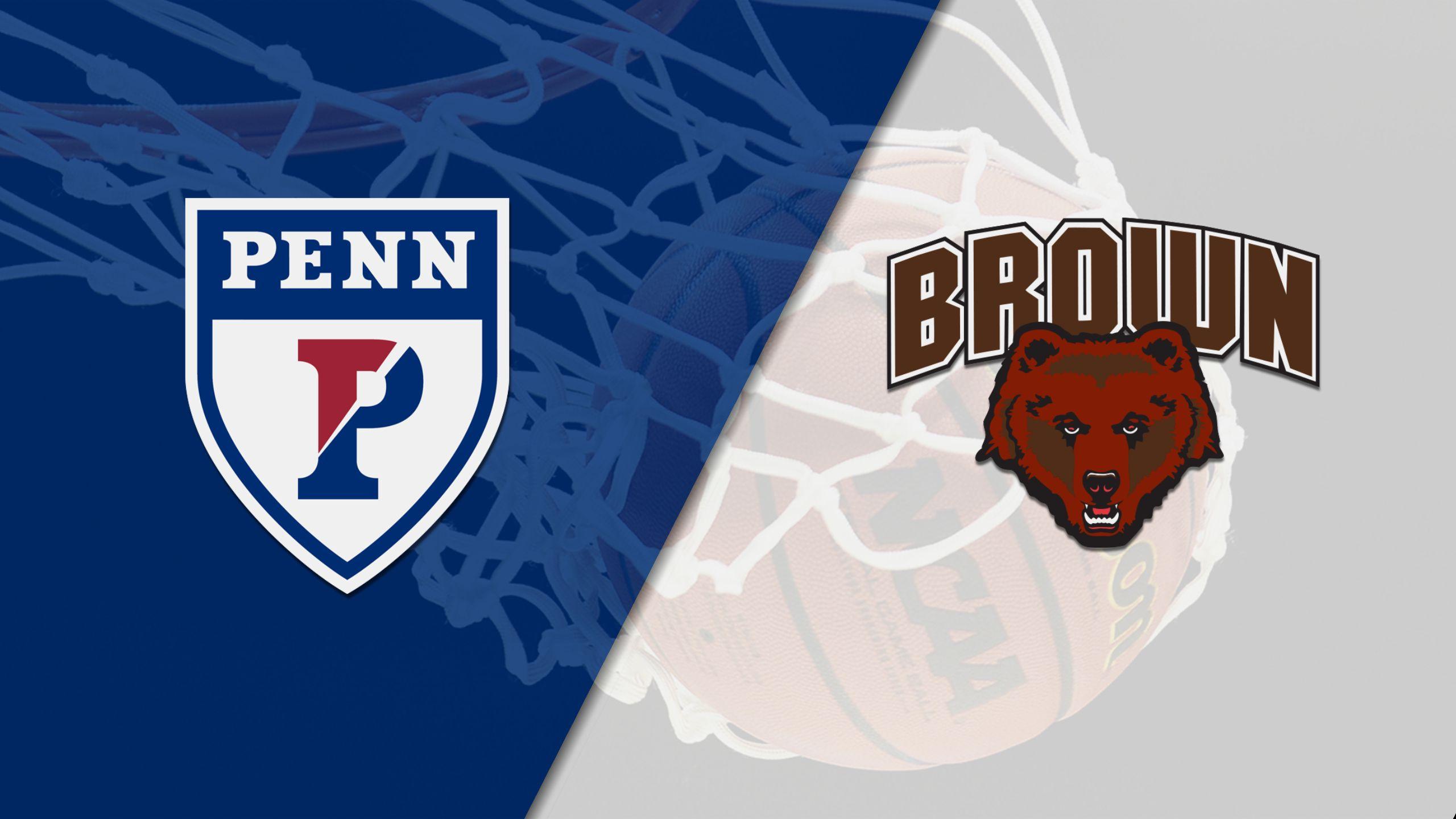 Pennsylvania vs. Brown (W Basketball)