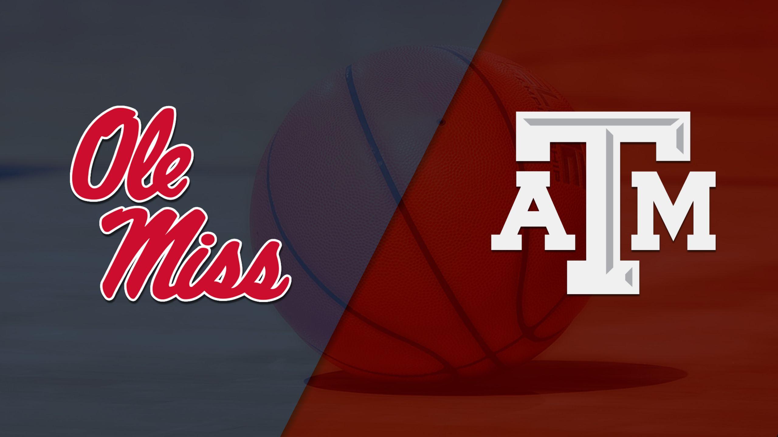 Ole Miss vs. #14 Texas A&M (W Basketball)