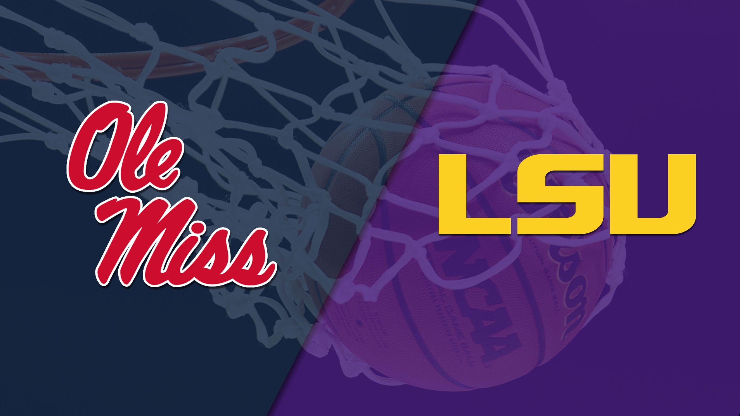 Ole Miss vs. LSU (W Basketball)