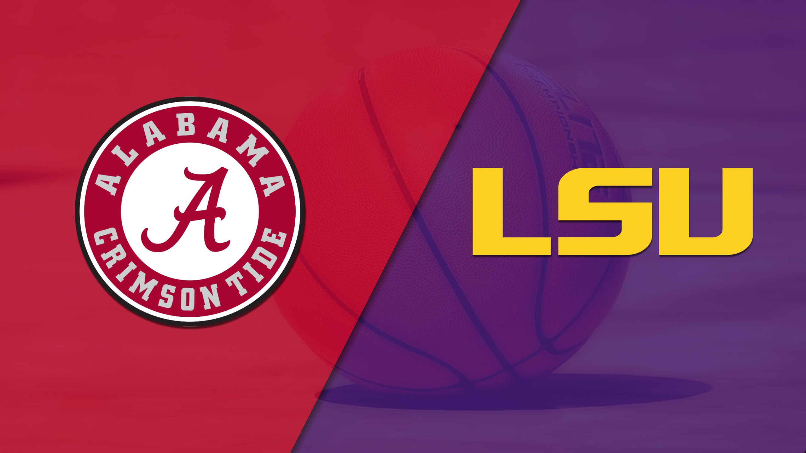 Alabama vs. #24 LSU (W Basketball)