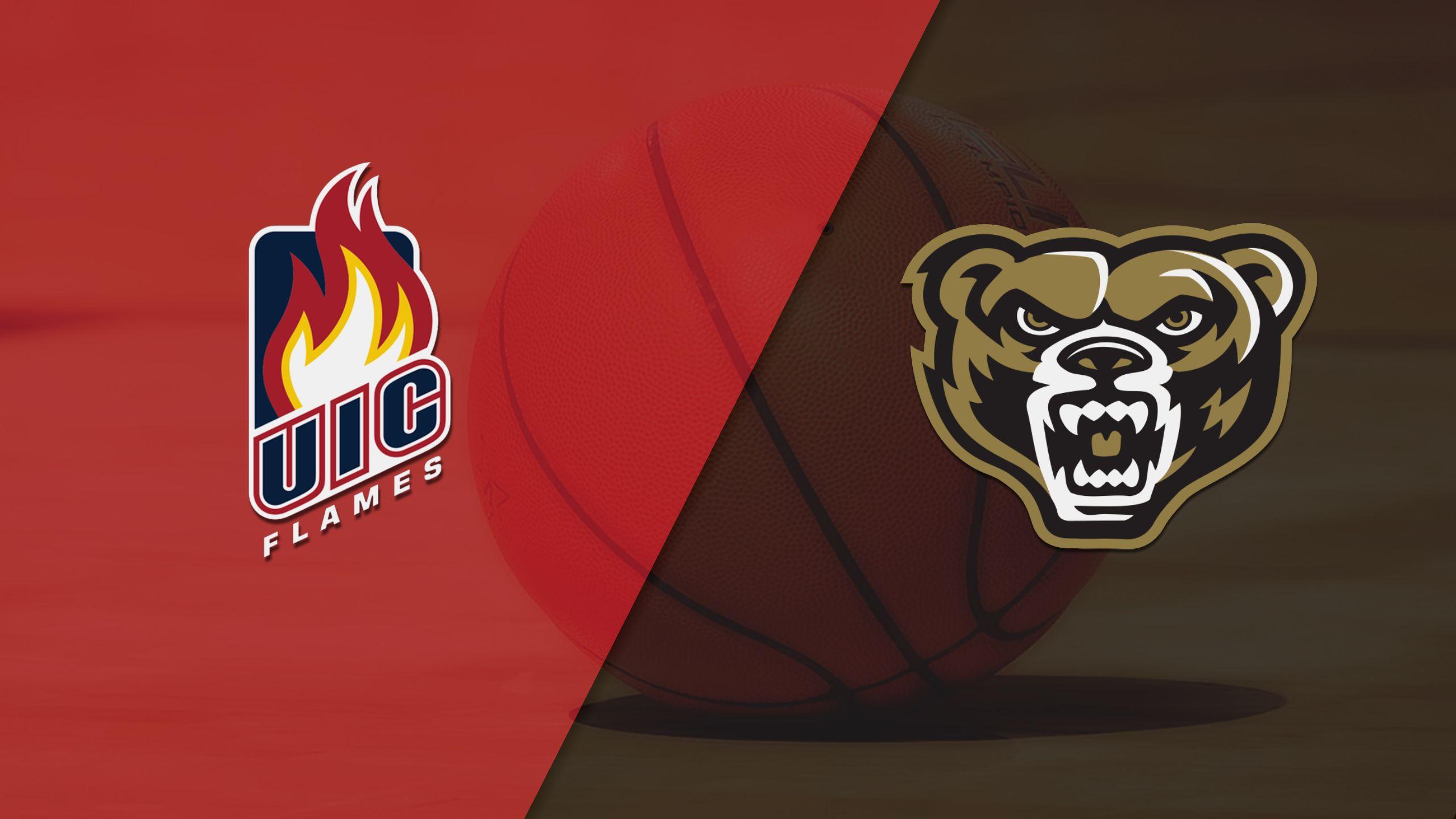 UIC vs. Oakland (W Basketball)