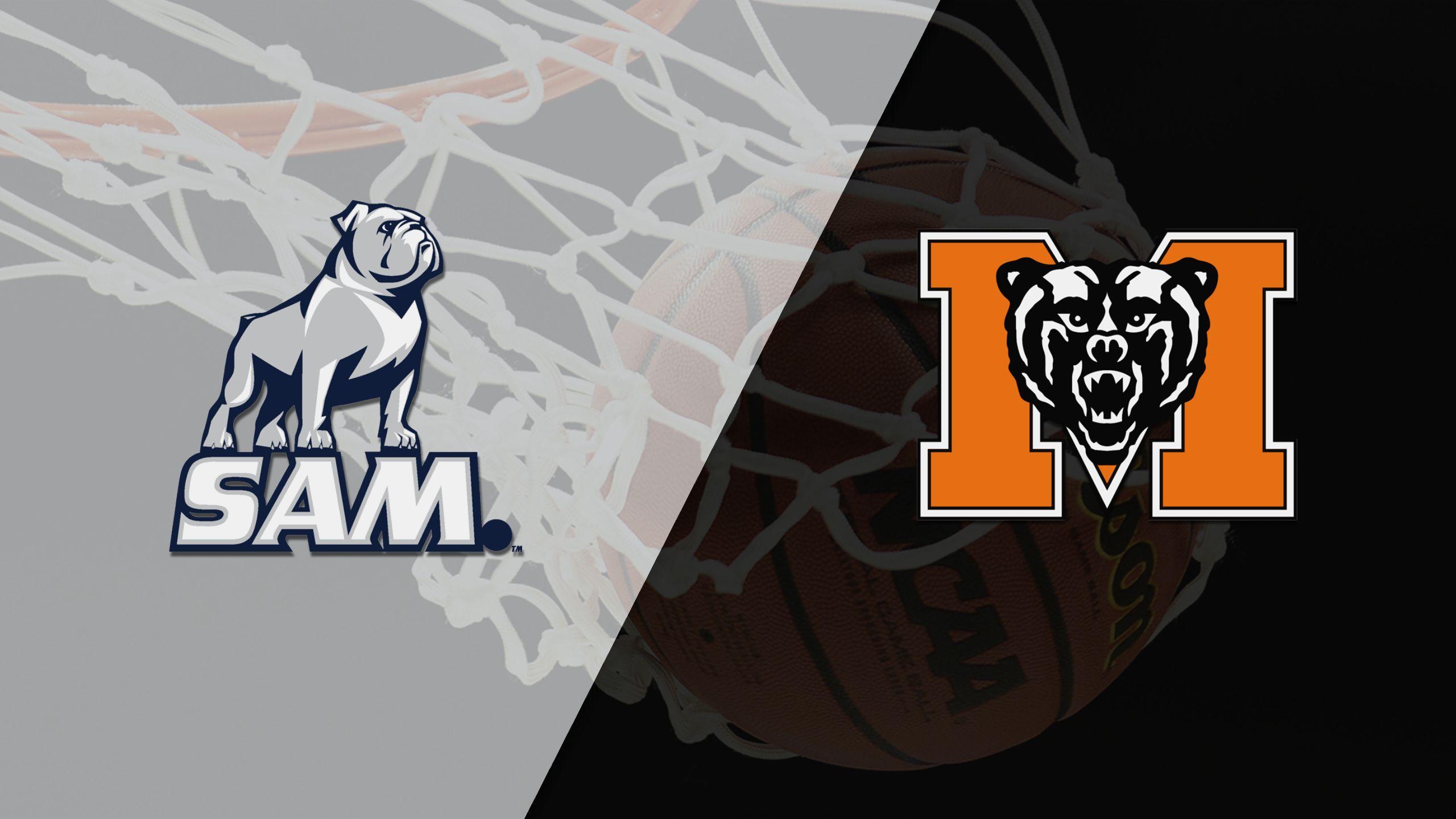 Samford vs. Mercer (W Basketball)