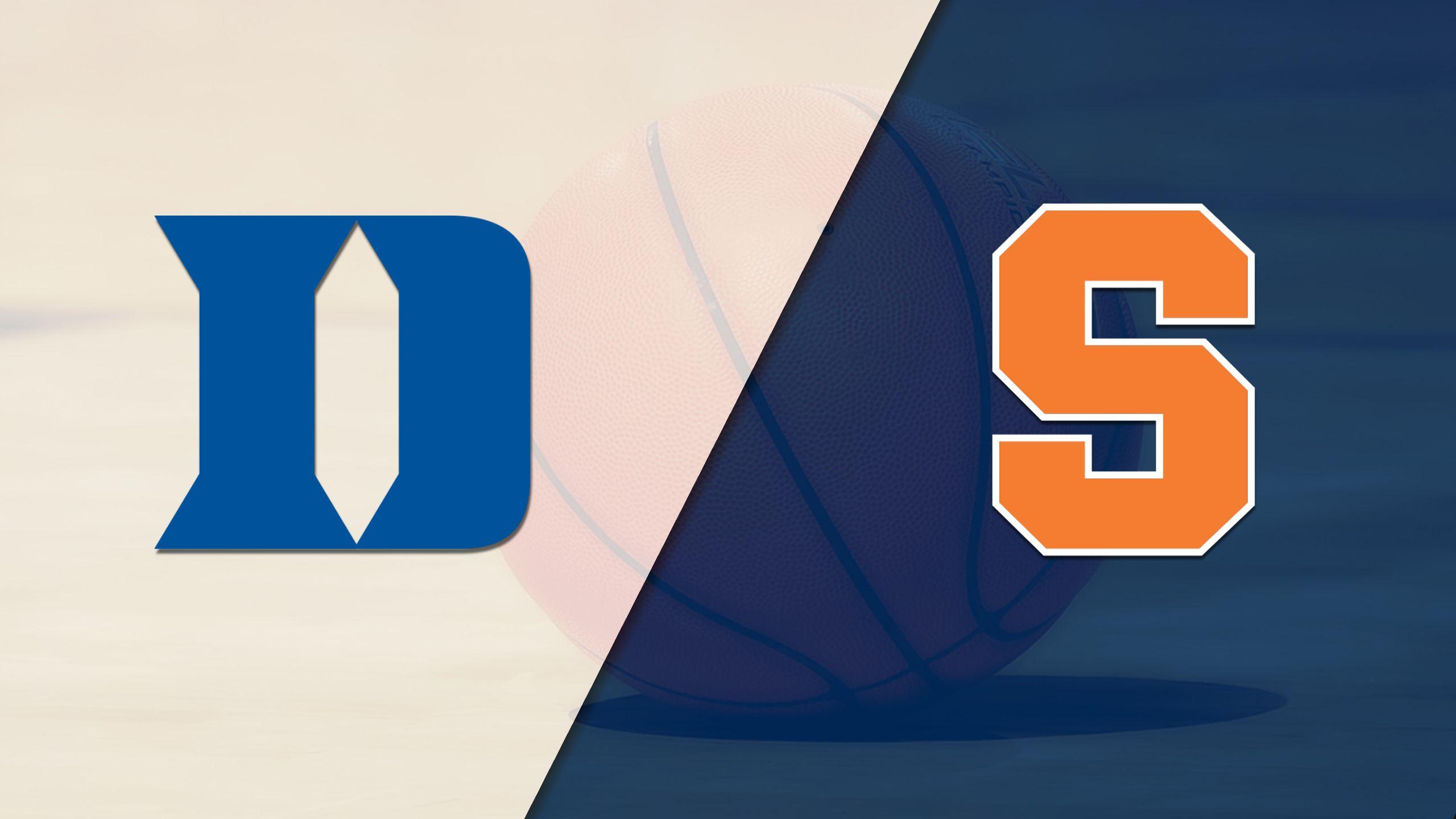 #17 Duke vs. Syracuse (W Basketball)