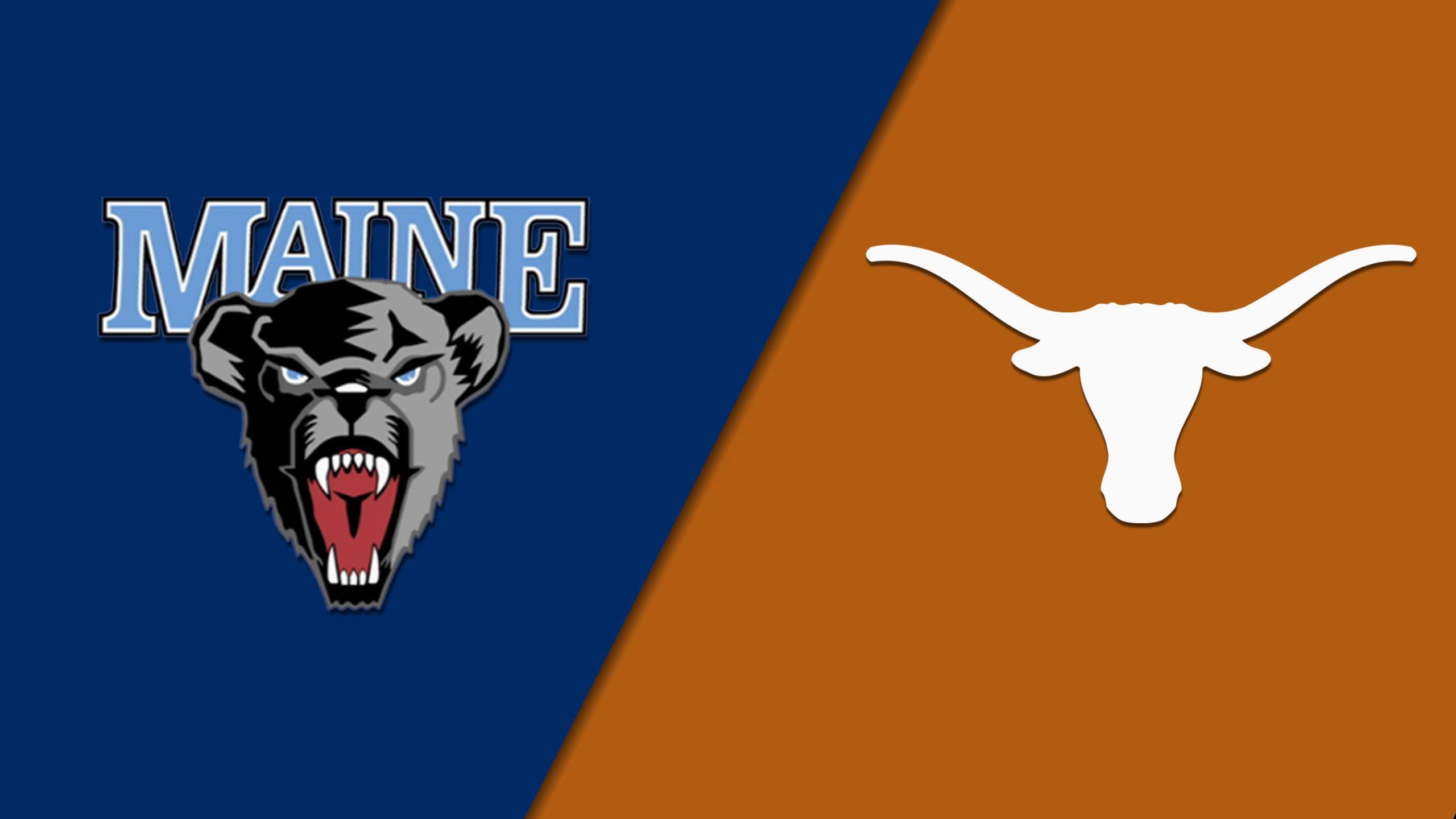 #15 Maine vs. #2 Texas (First Round) (NCAA Women's Basketball Championship)