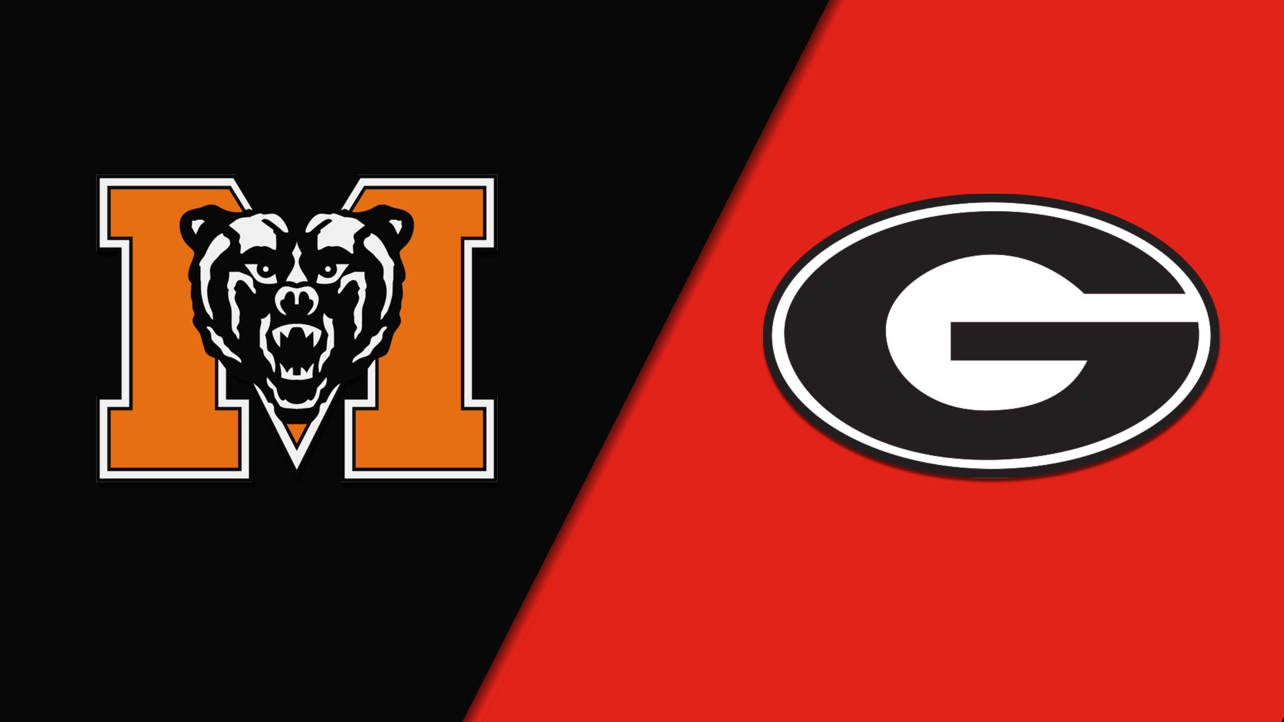 #13 Mercer vs. #4 Georgia (First Round) (NCAA Women's Basketball Championship)