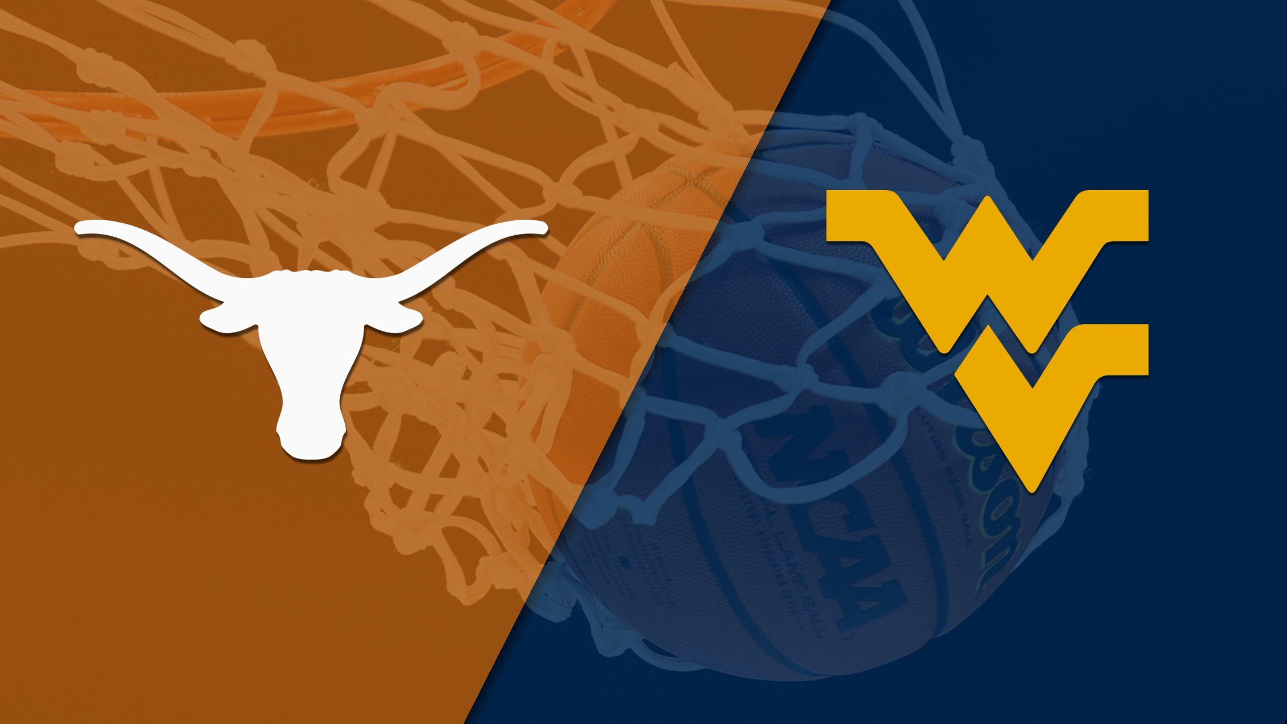 #8 Texas vs. West Virginia (W Basketball) (re-air)