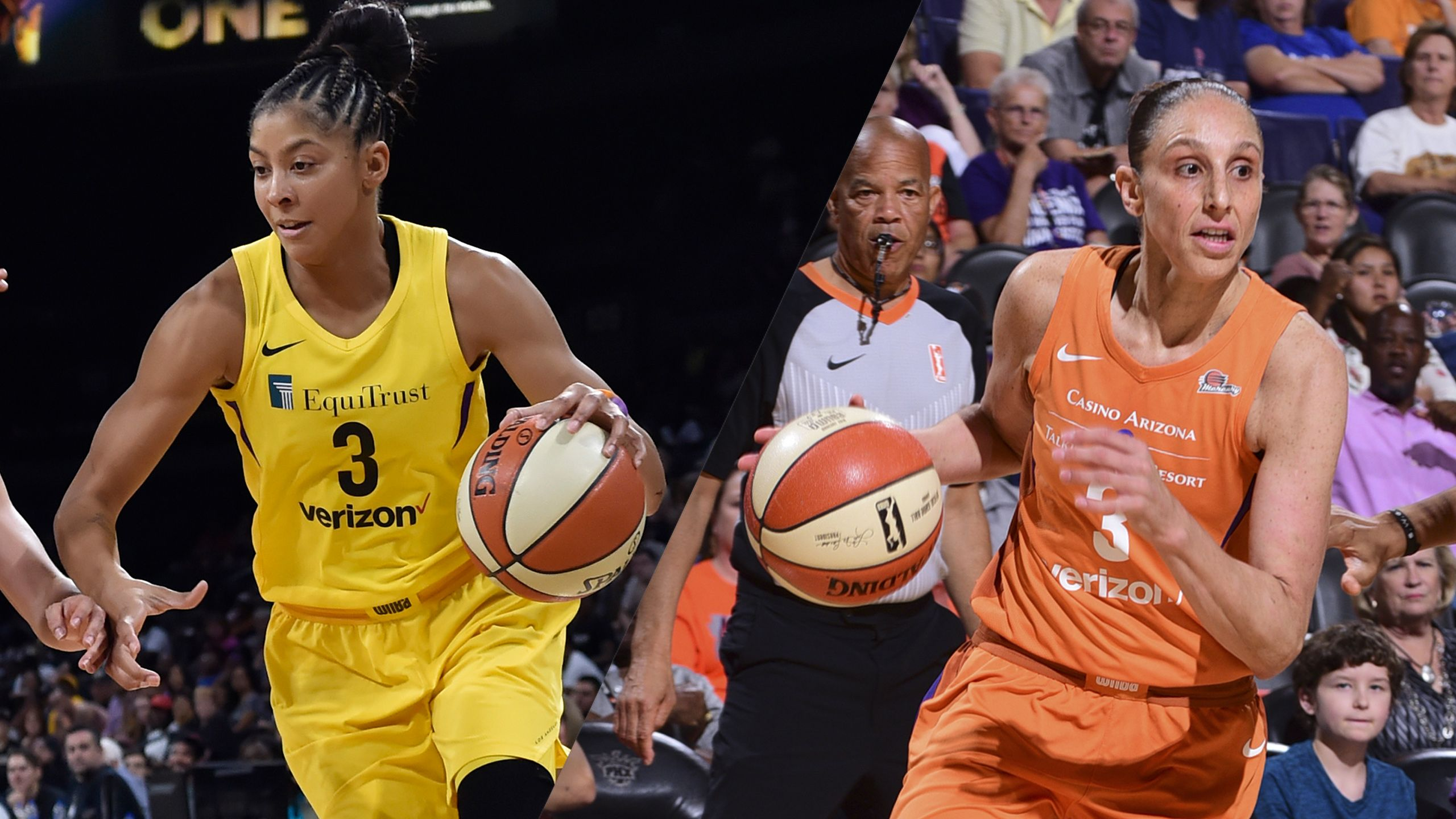 Los Angeles Sparks vs. Phoenix Mercury