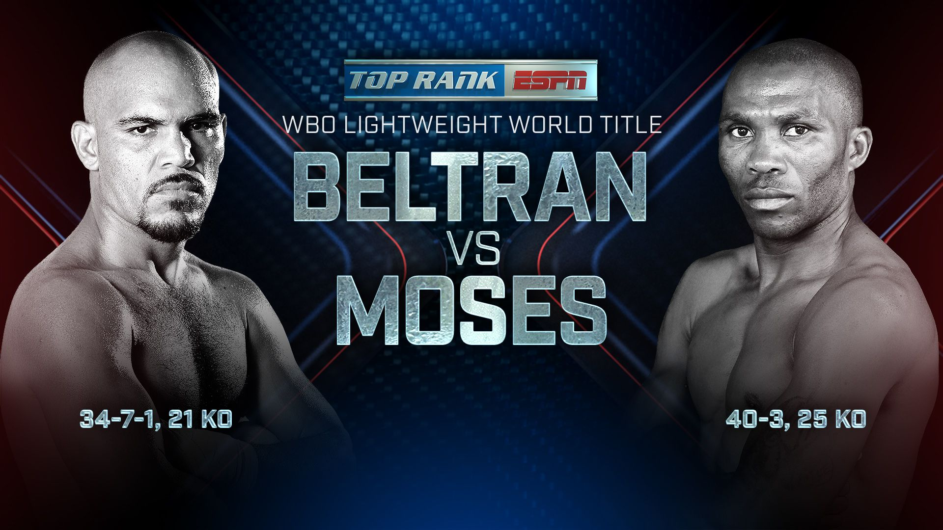 Raymundo Beltran vs. Paulus Moses (re-air)