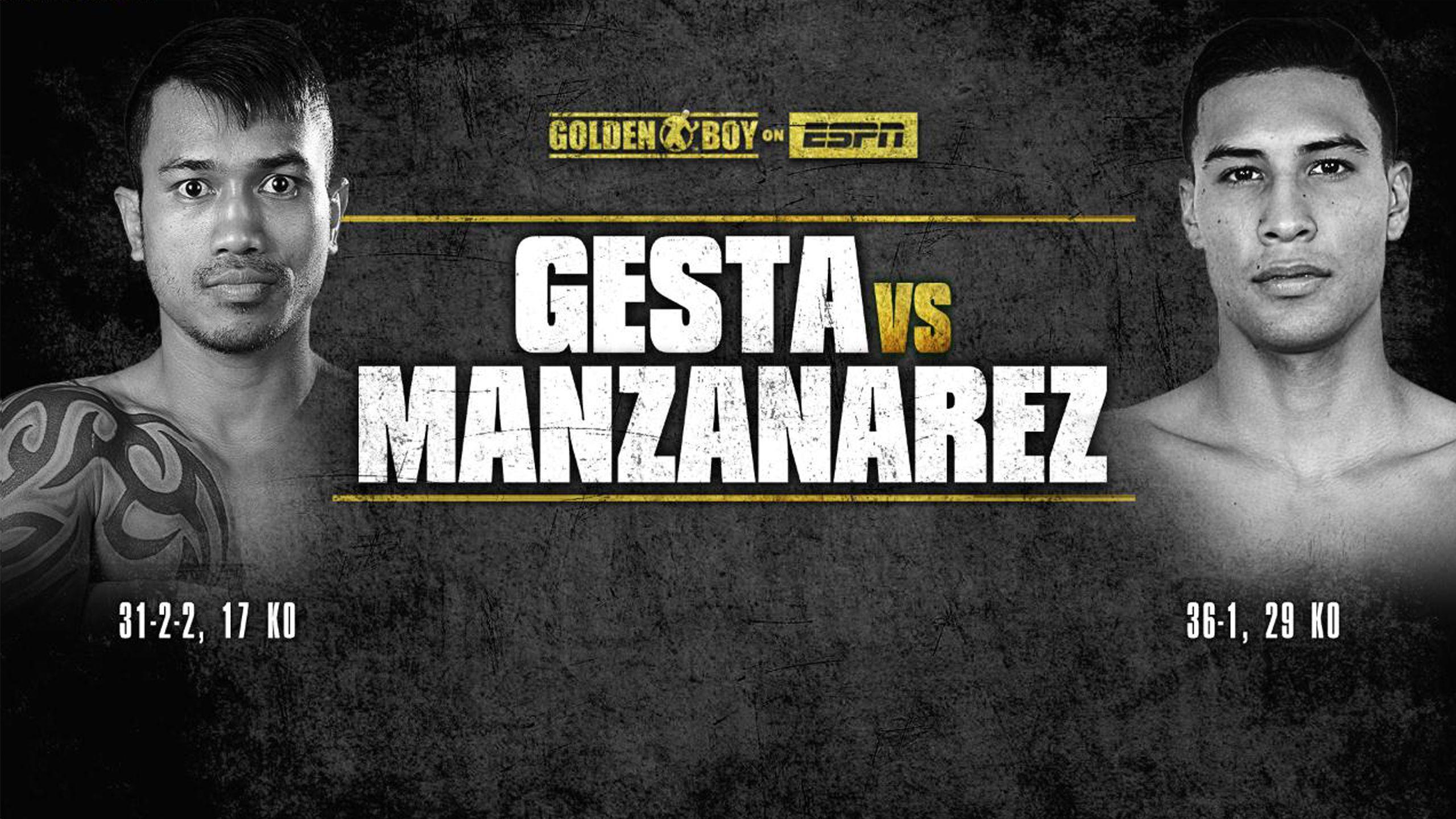 Mercito Gesta vs. Roberto Manzanarez