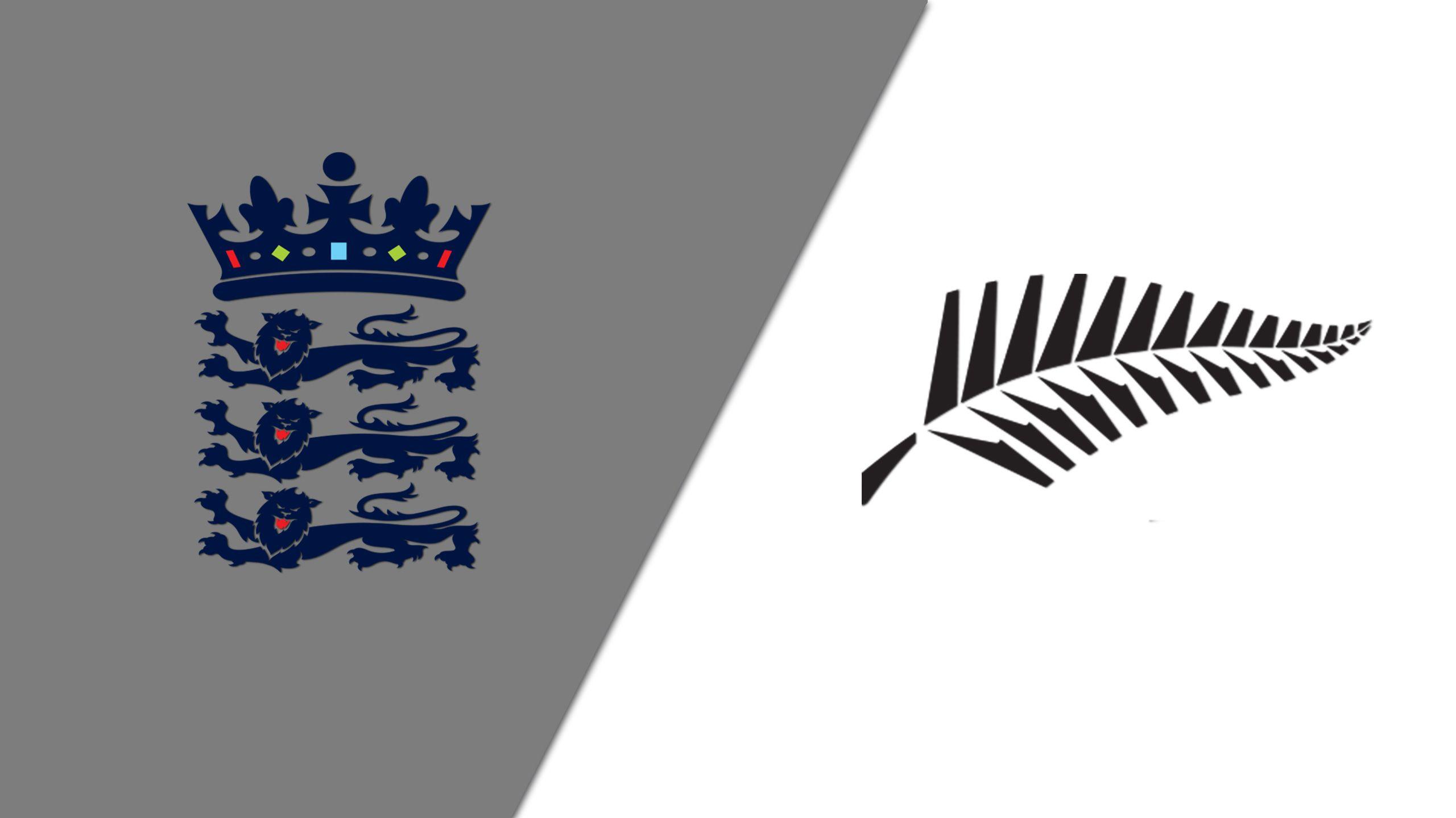 New Zealand vs. England (Test 1, Day 4) (International Cricket)