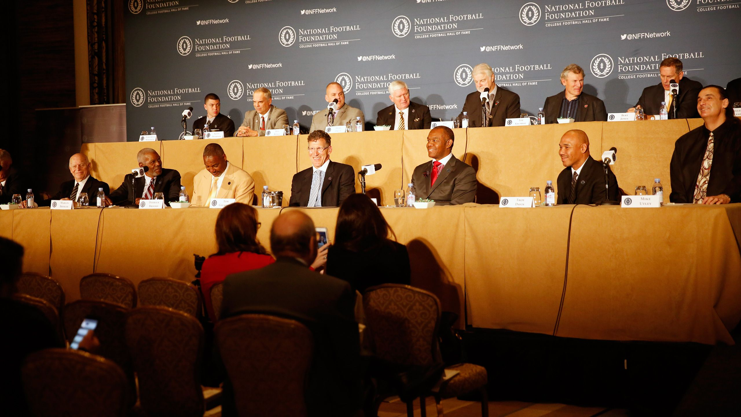 2017 National Football Foundation Awards Dinner Press Conference