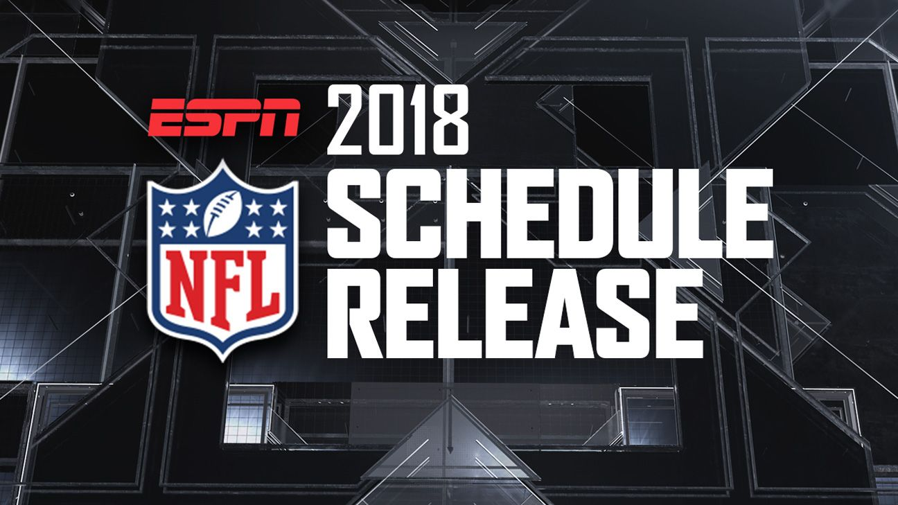 SportsCenter Special presented by Maui Jim Sunglasses: 2018 NFL Schedule Release