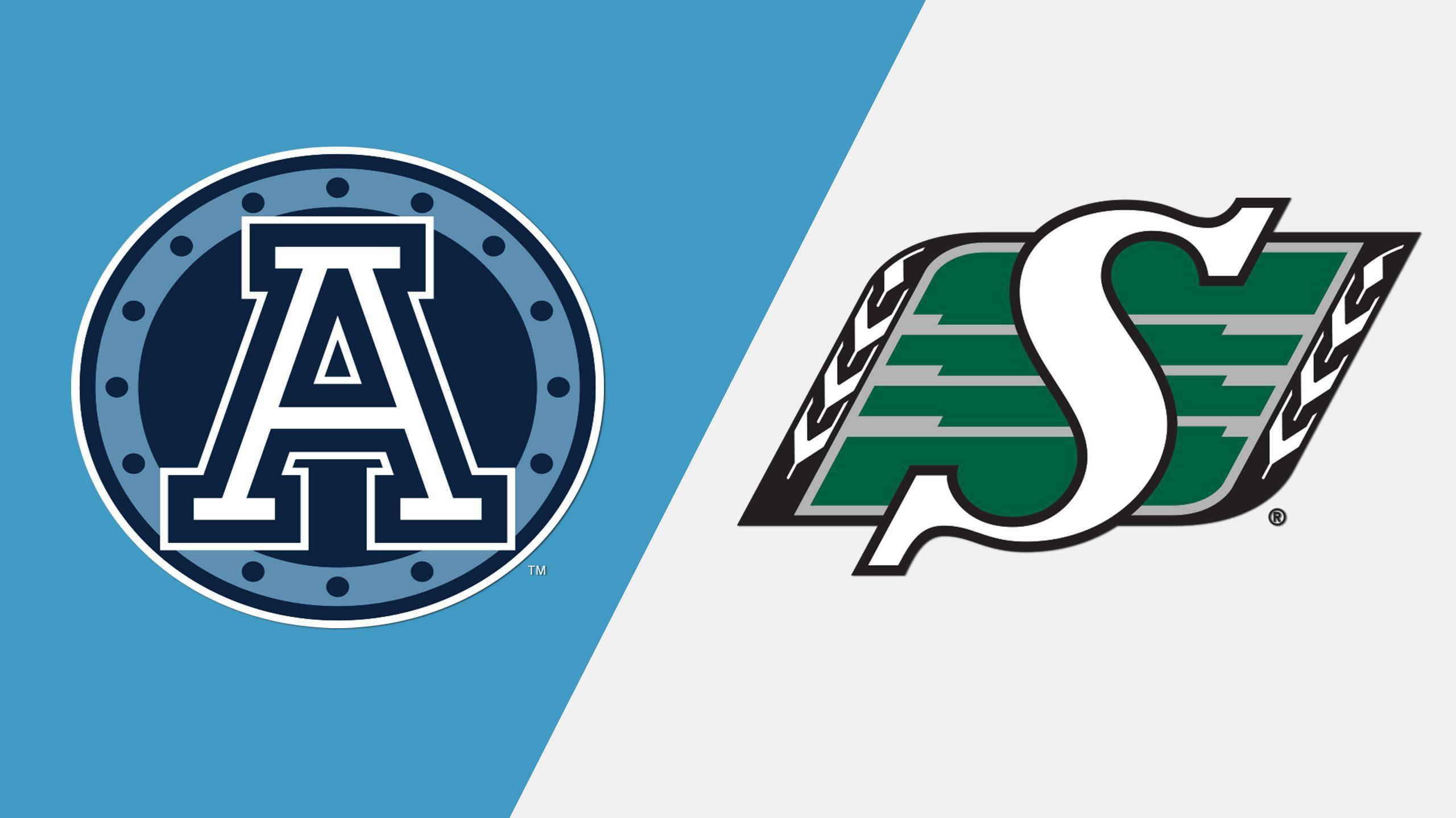 Toronto Argonauts vs. Saskatchewan Roughriders