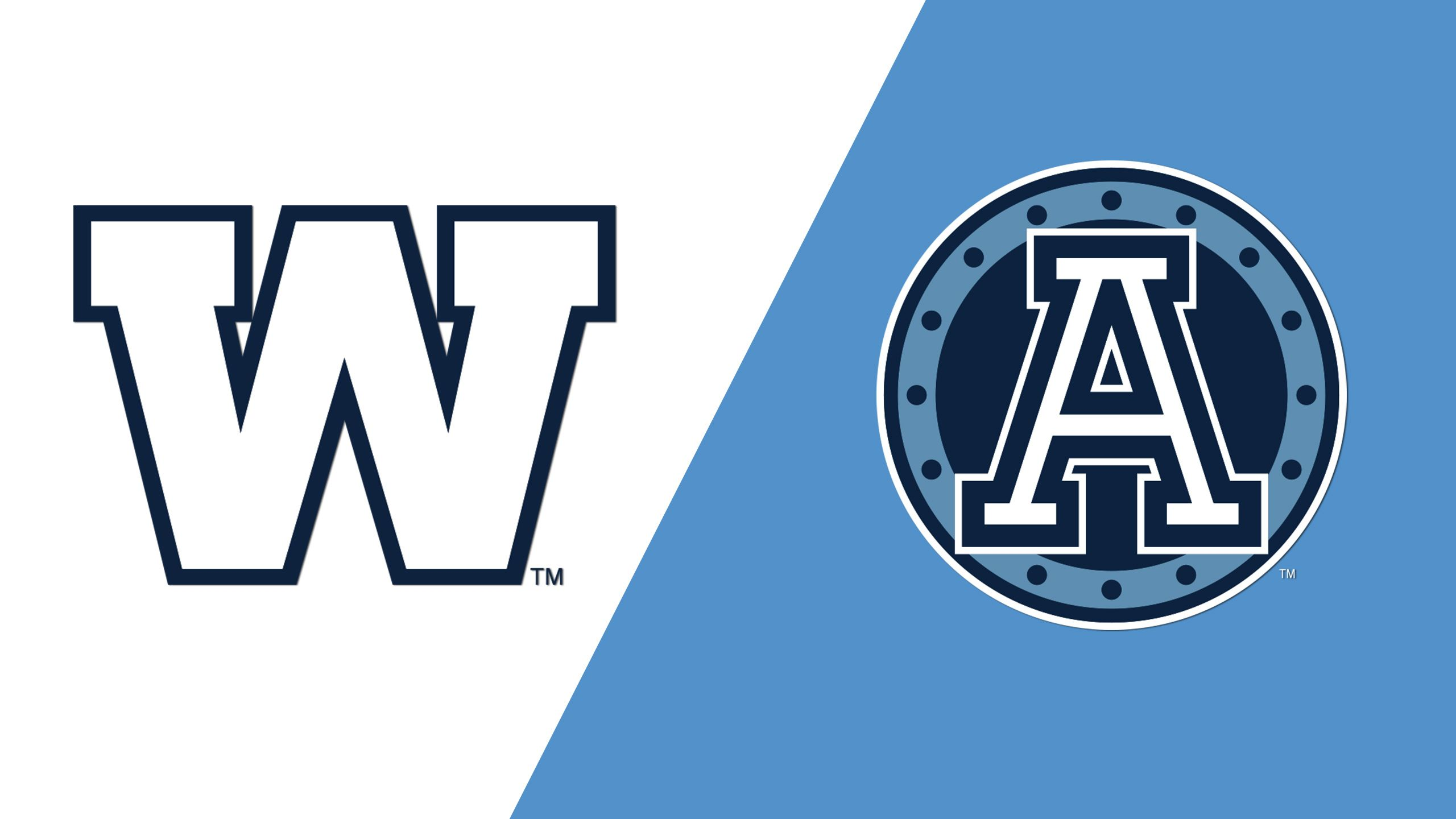 Winnipeg Blue Bombers vs. Toronto Argonauts