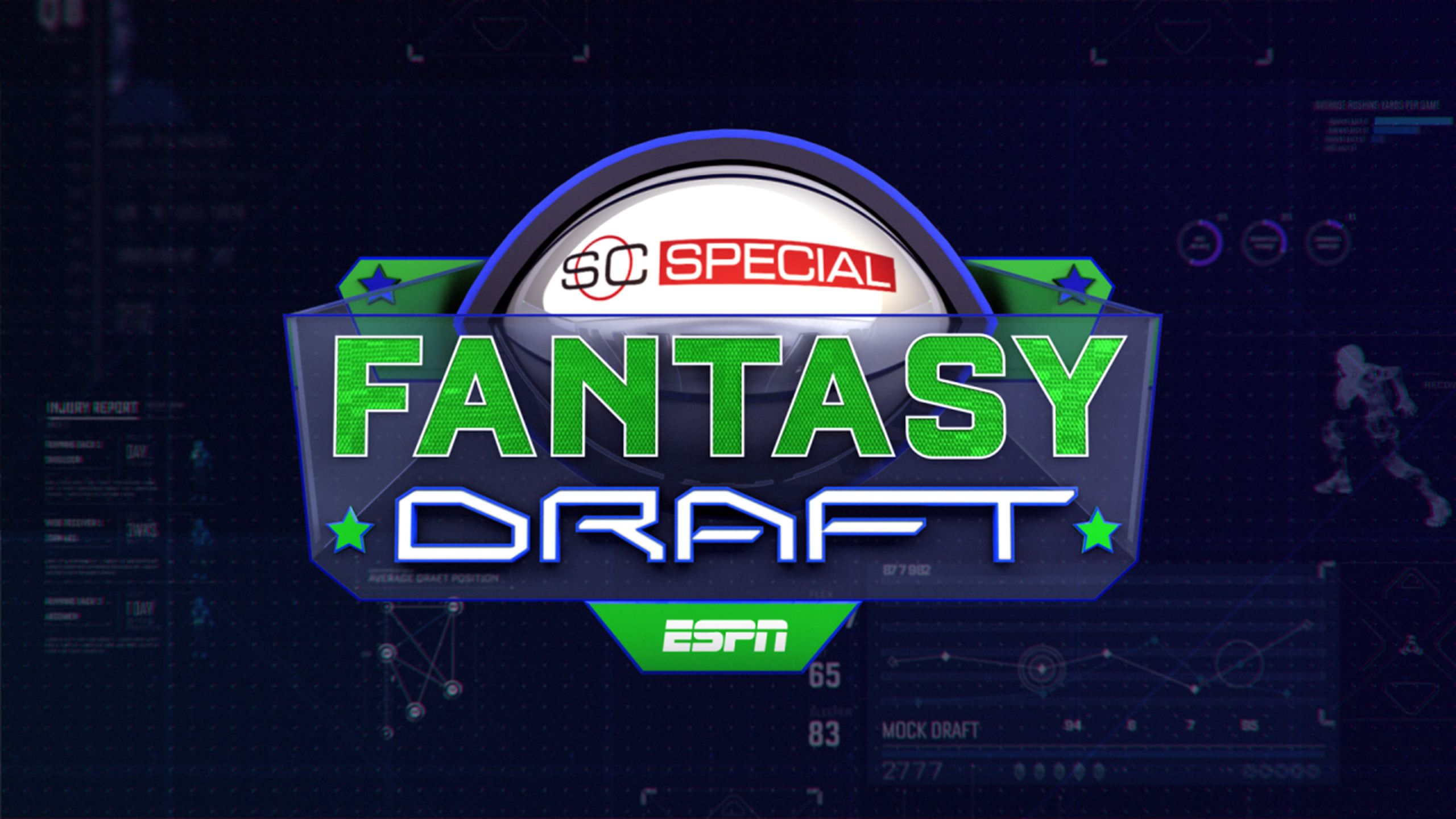 SportsCenter Special: Fantasy Football Draft