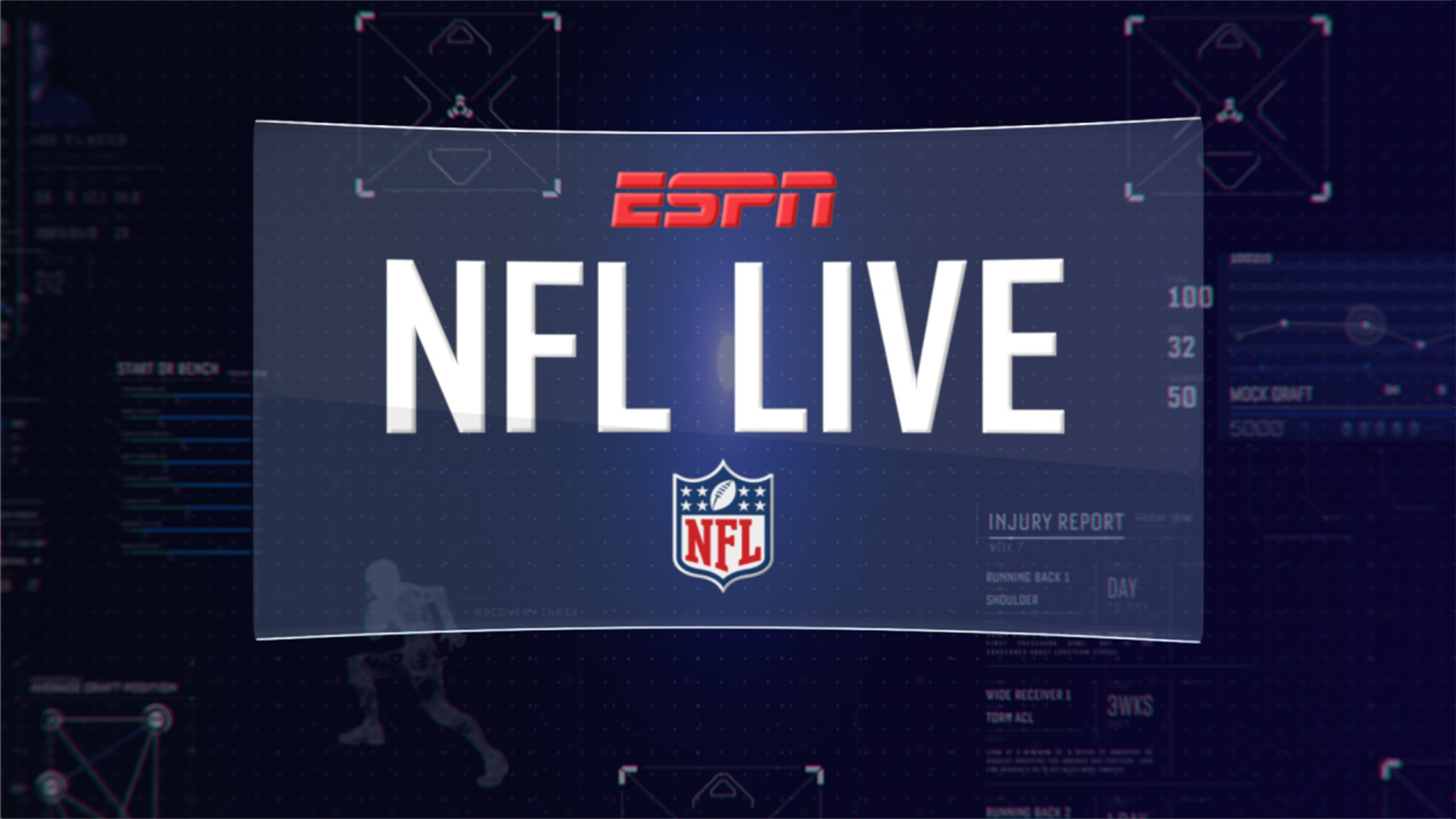 NFL Live as Part of The ESPN Fantasy Football Marathon