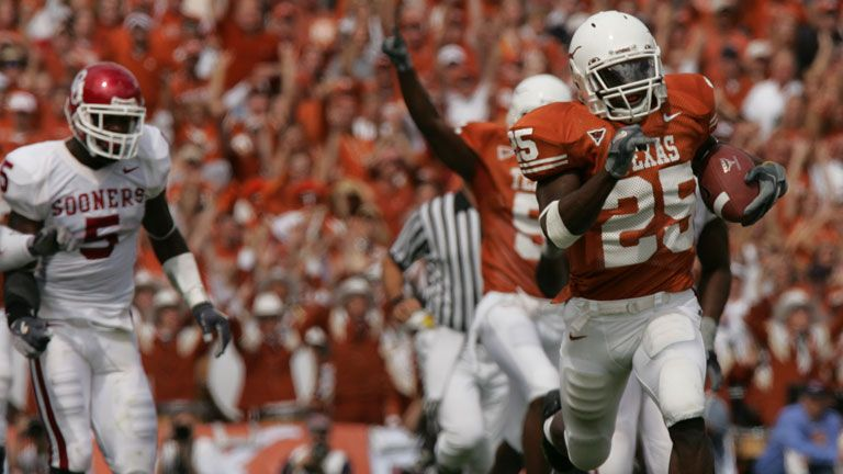 Oklahoma Sooners vs. #20 Texas Longhorns - 10/8/2005 (re-air)