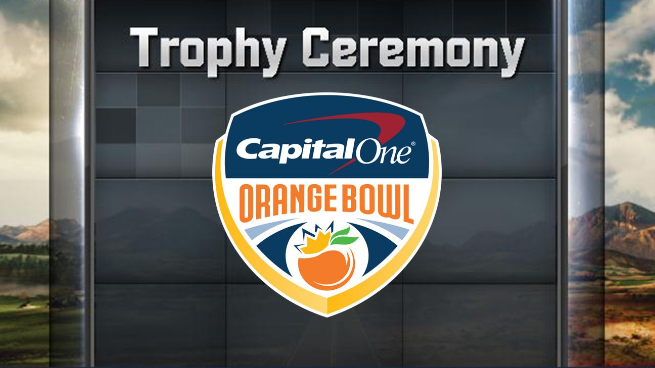 College Football Playoff at the Capital One Orange Bowl Trophy Ceremony