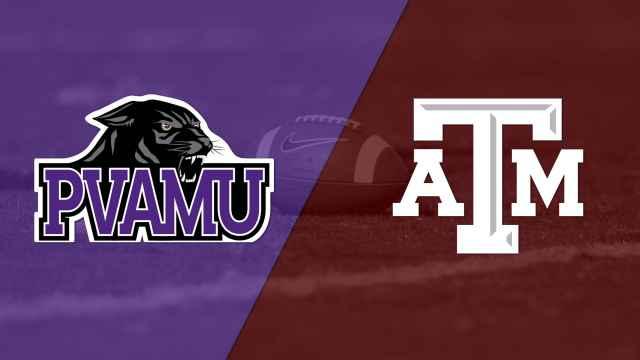 Prairie View A&M vs. #20 Texas A&M (Football)
