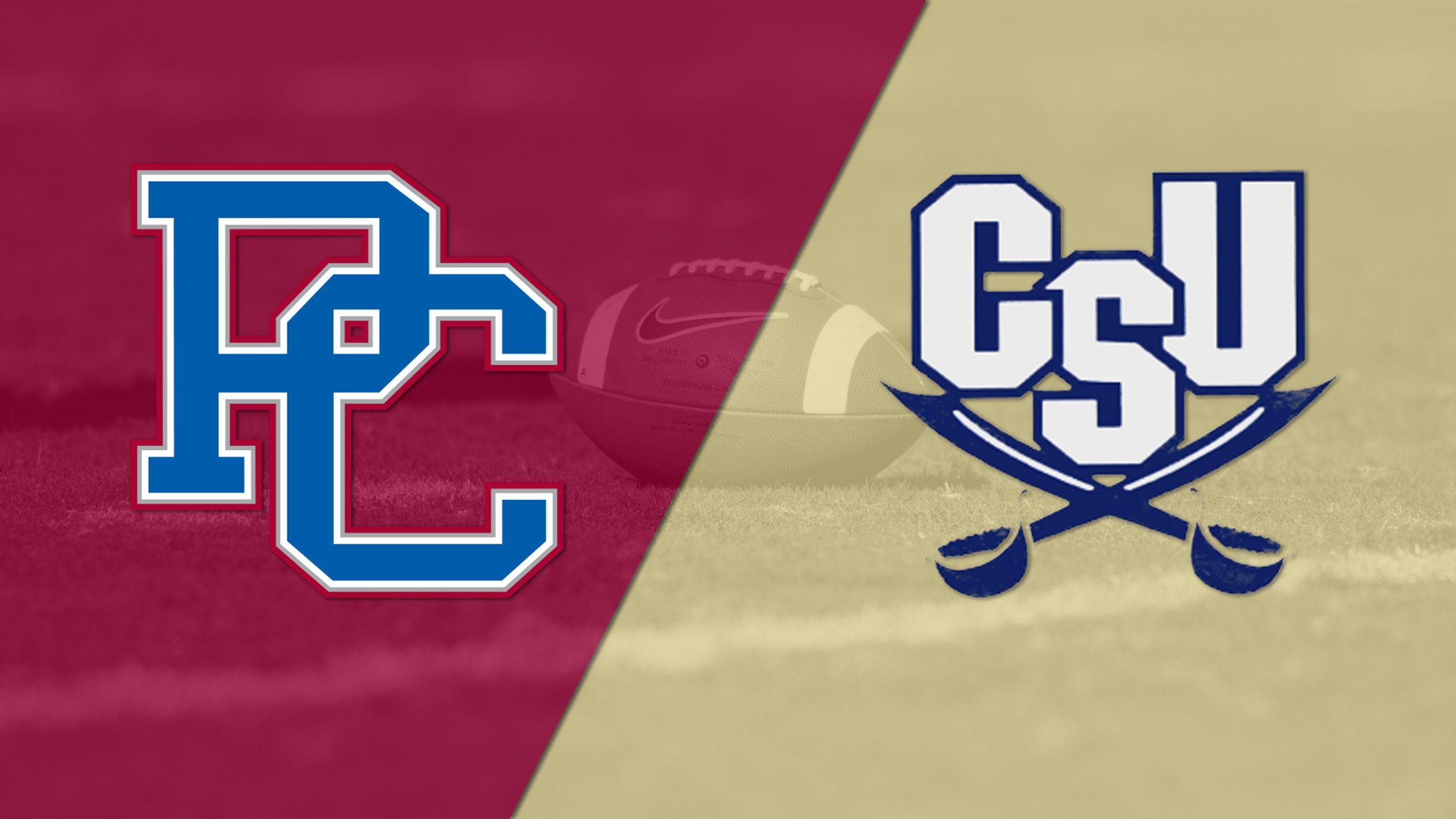 Presbyterian vs. Charleston Southern (Football)