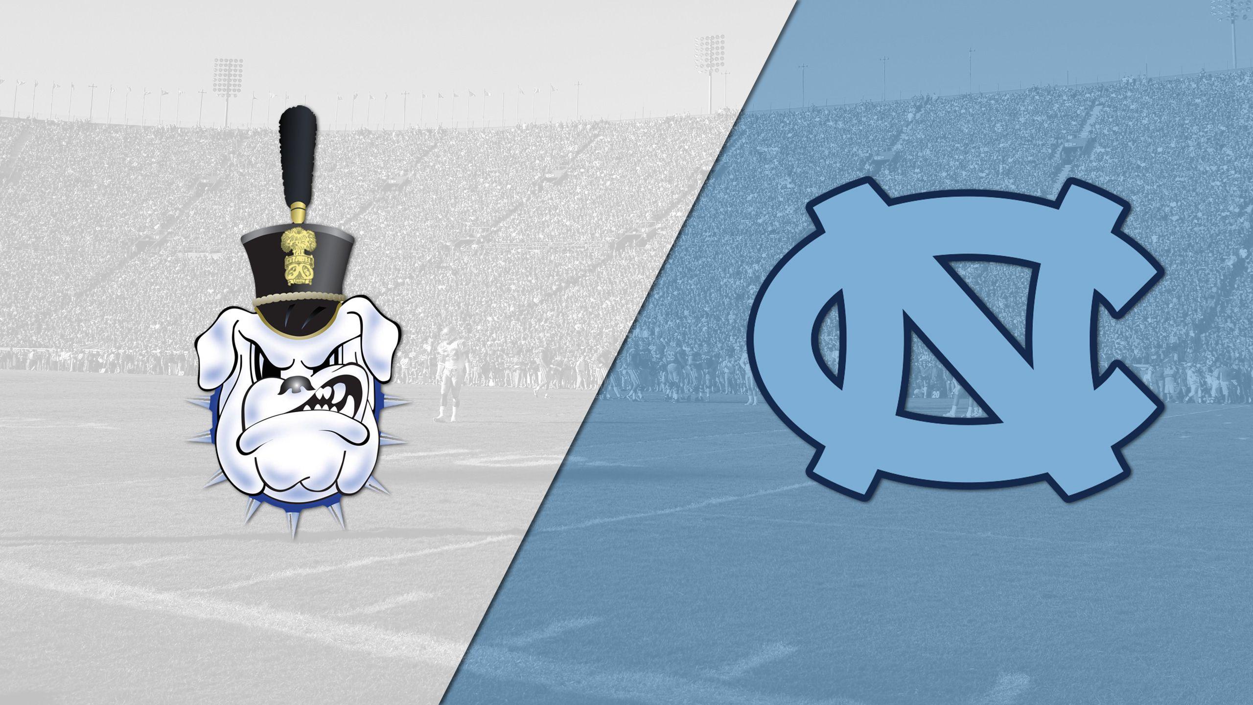 The Citadel vs. North Carolina (Football)