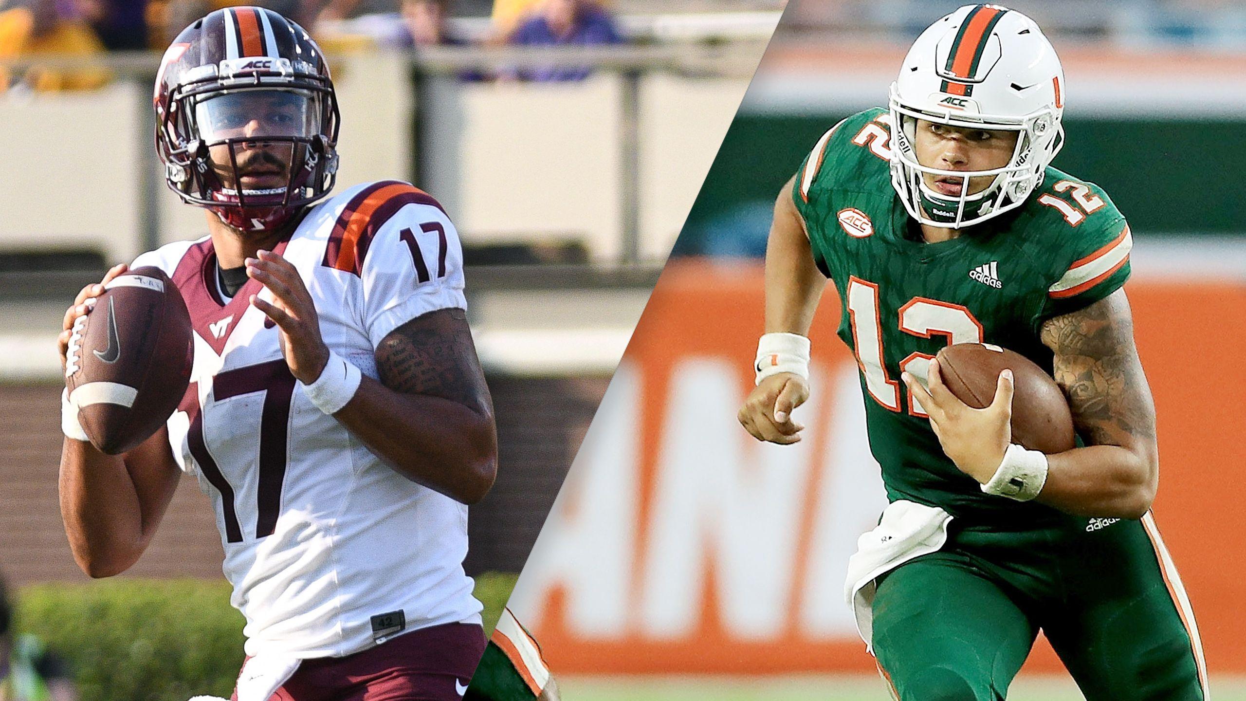 #13 Virginia Tech vs. #10 Miami (Football)