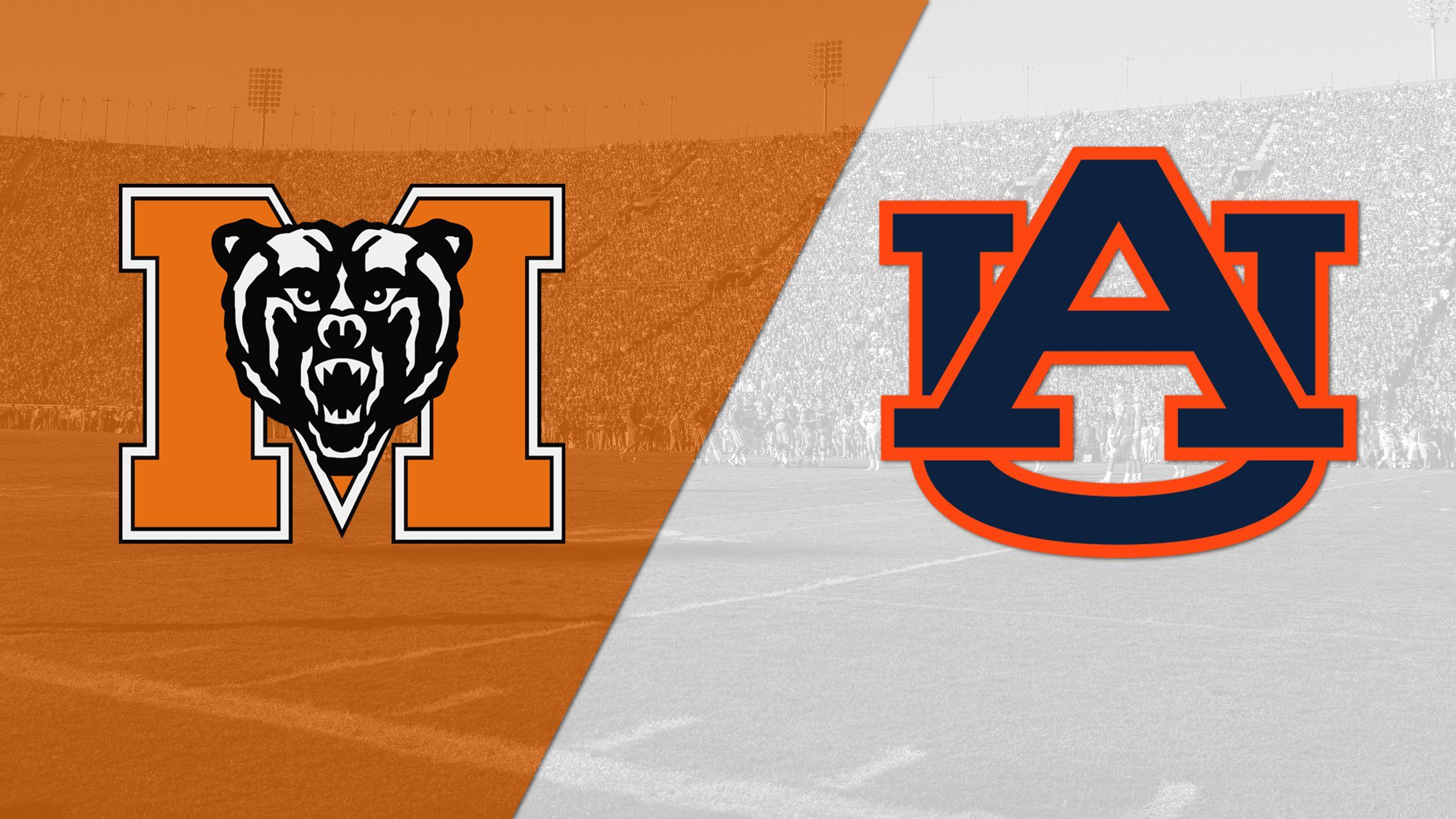 Mercer vs. #15 Auburn (Football)