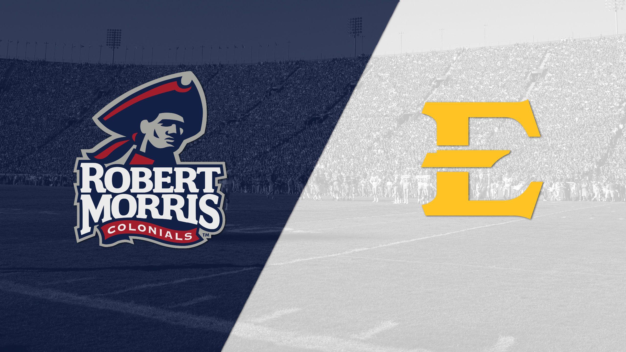 Robert Morris vs. East Tennessee State (Football)
