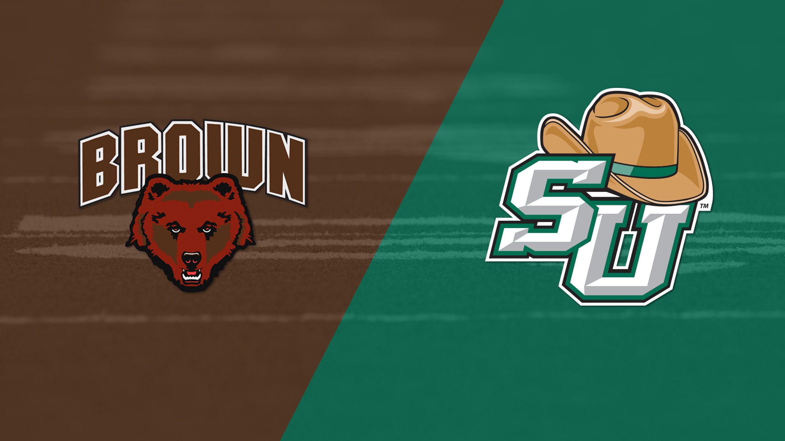Brown vs. Stetson (Football)