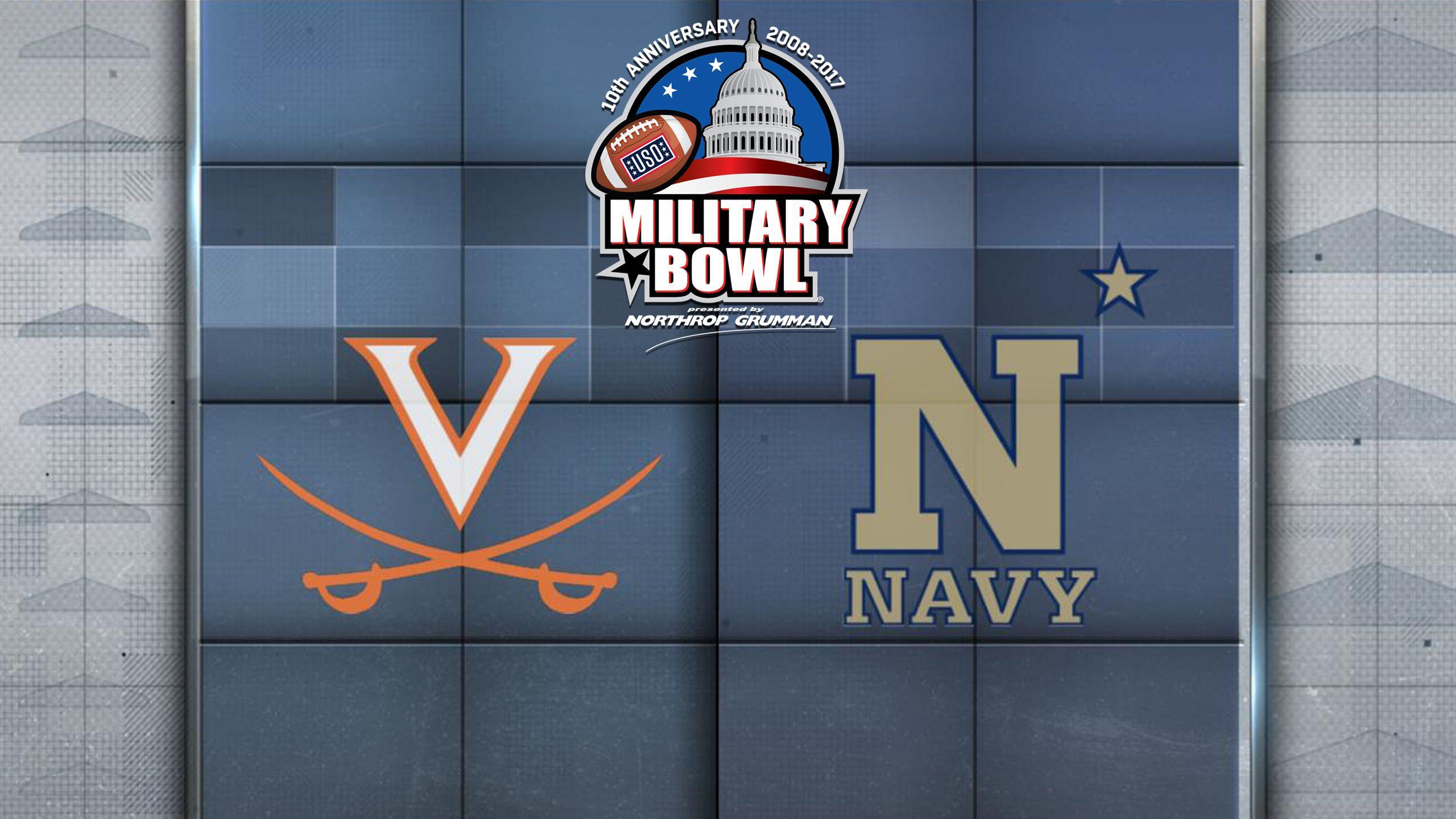 Virginia vs. Navy (Military Bowl)