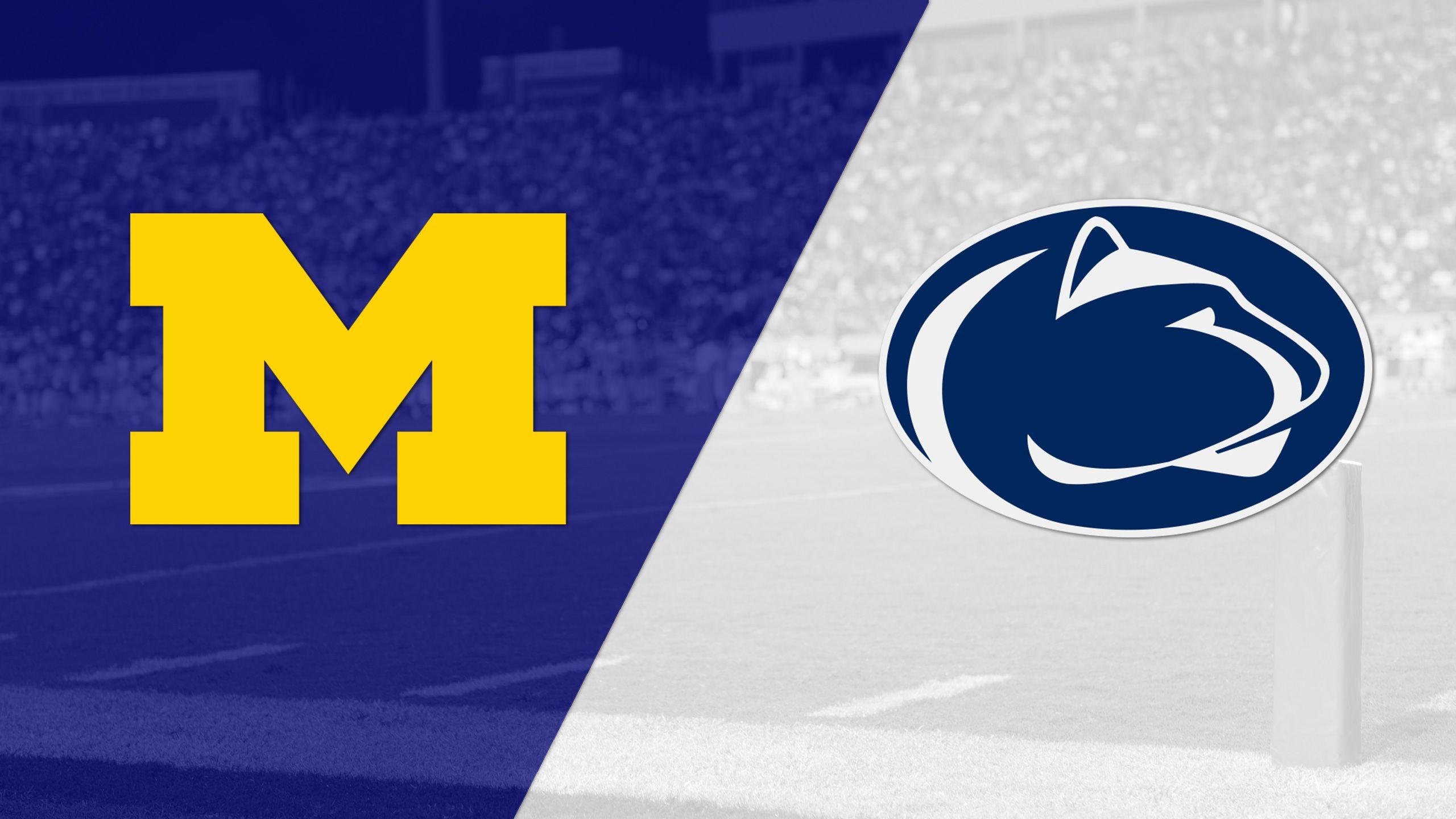#19 Michigan vs. #2 Penn State (Football) (re-air)
