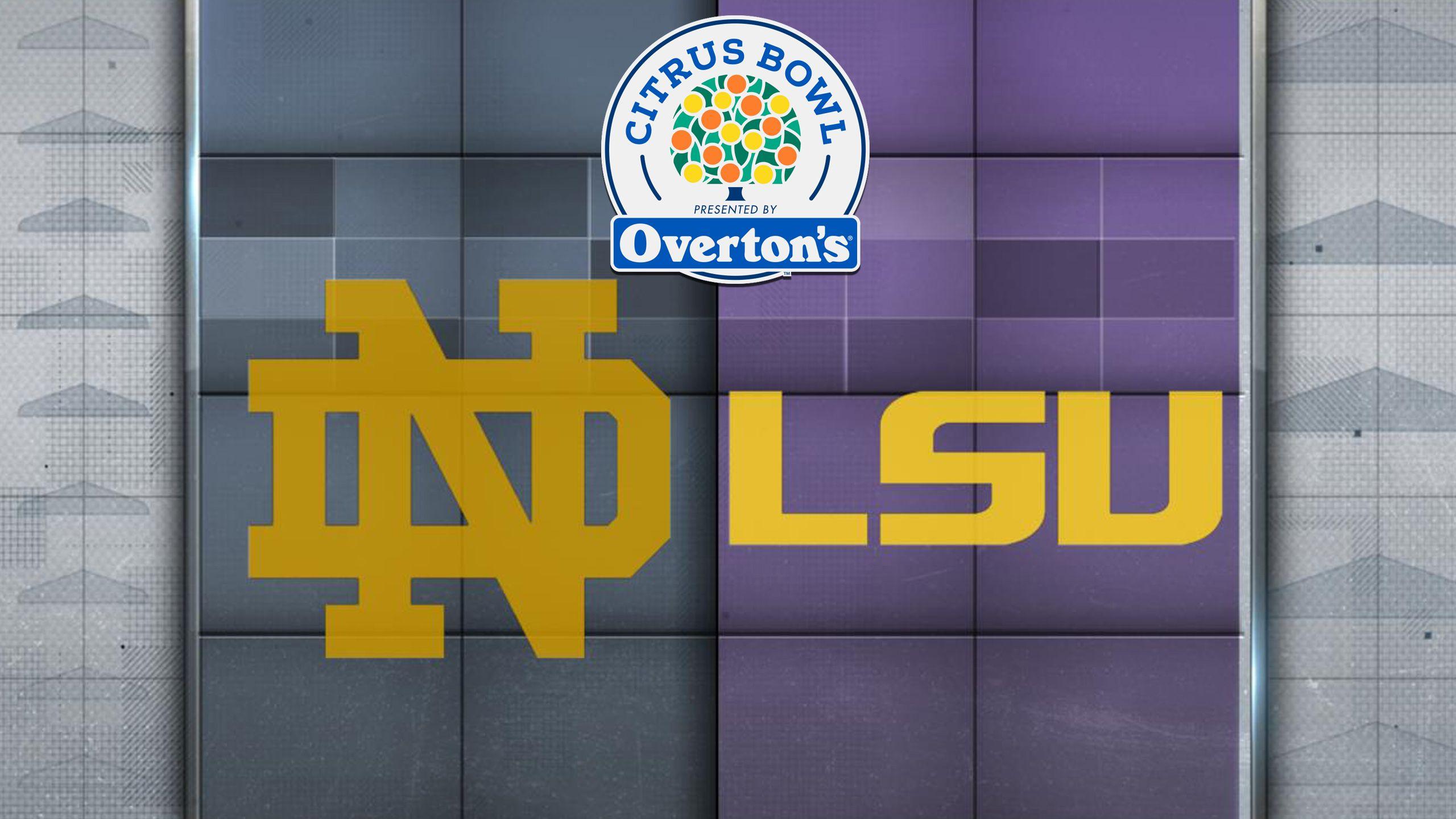 #14 Notre Dame vs. #17 LSU (Citrus Bowl)