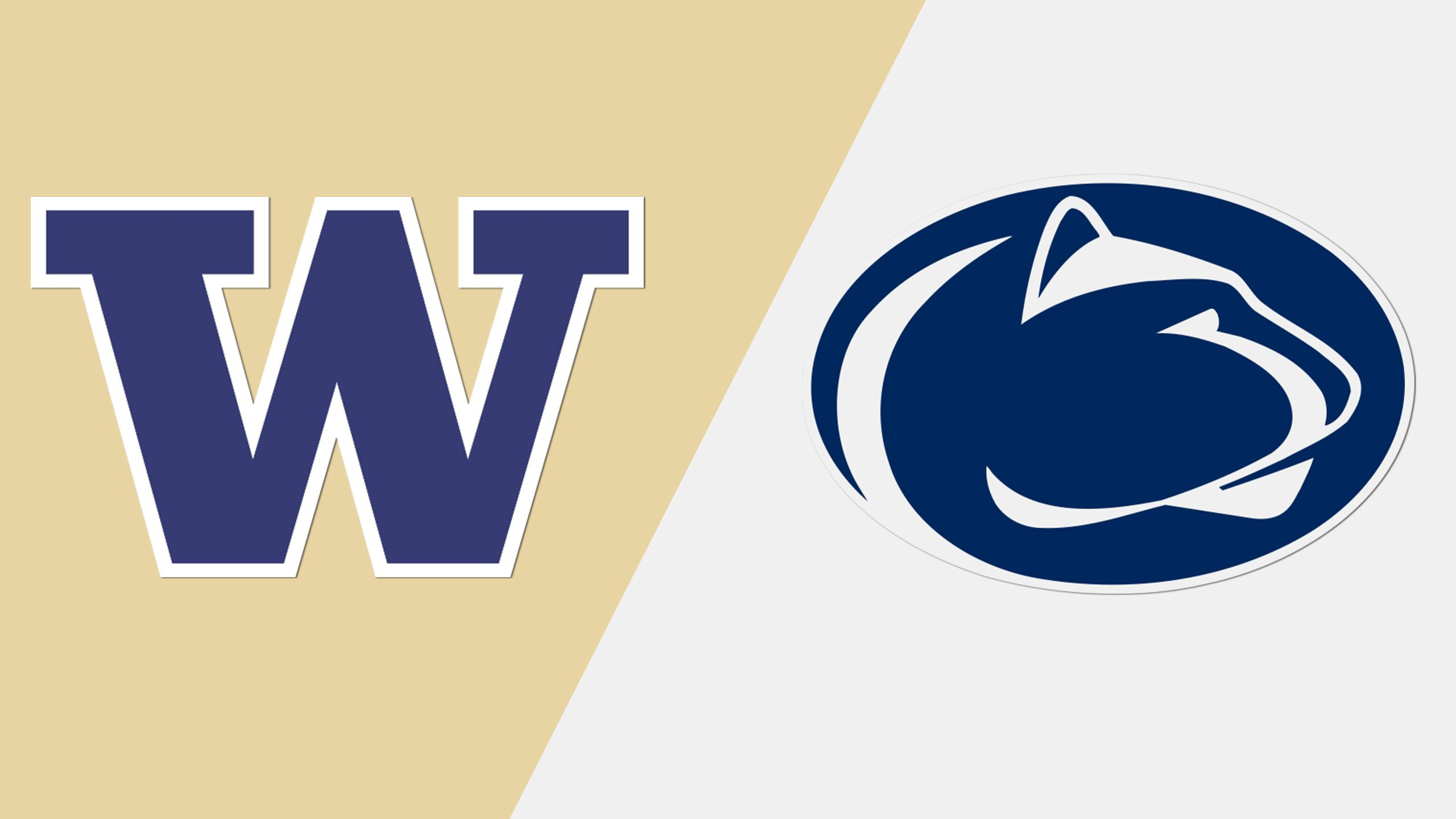 #11 Washington vs. #9 Penn State (Football) (re-air)