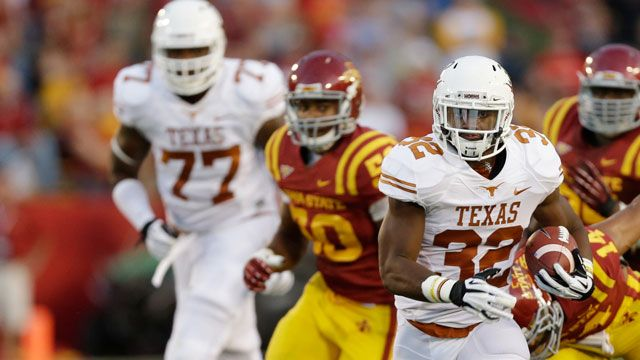 Texas vs. Iowa State -10/3/2013 (re-air)