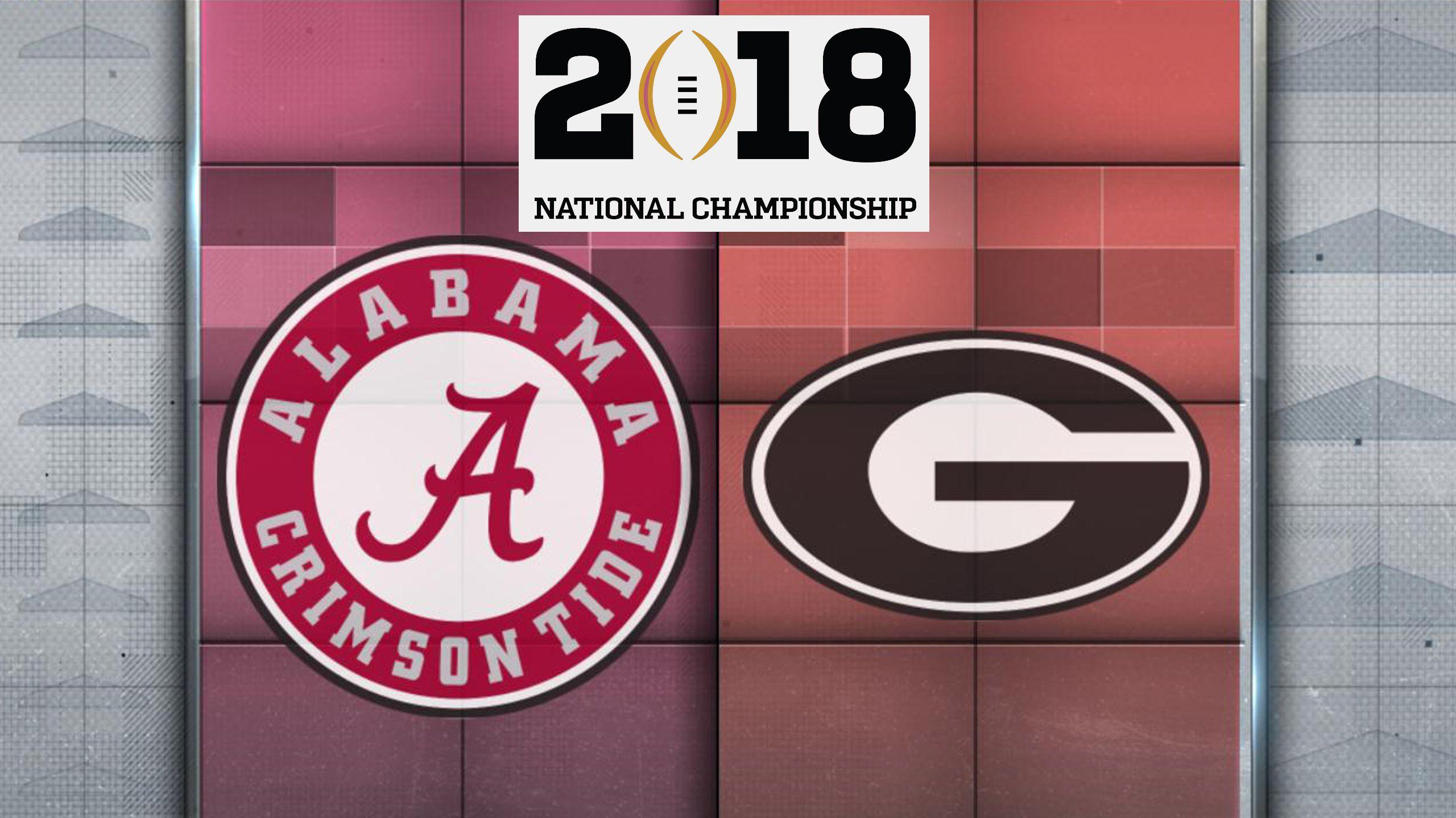 Alabama vs. Georgia (CFP National Championship)