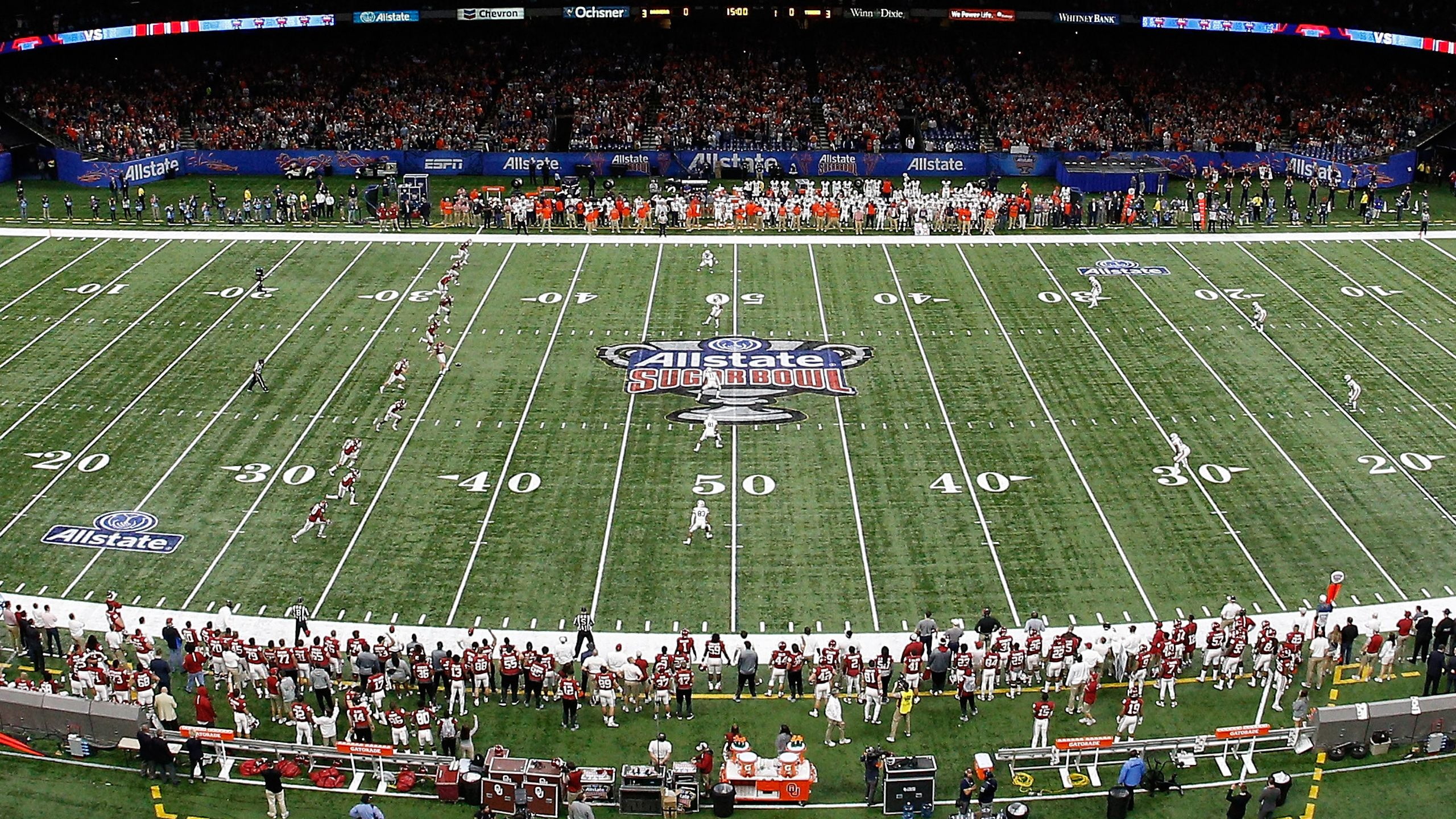 All-22: 2018 CFP Semifinal at the Allstate Sugar Bowl