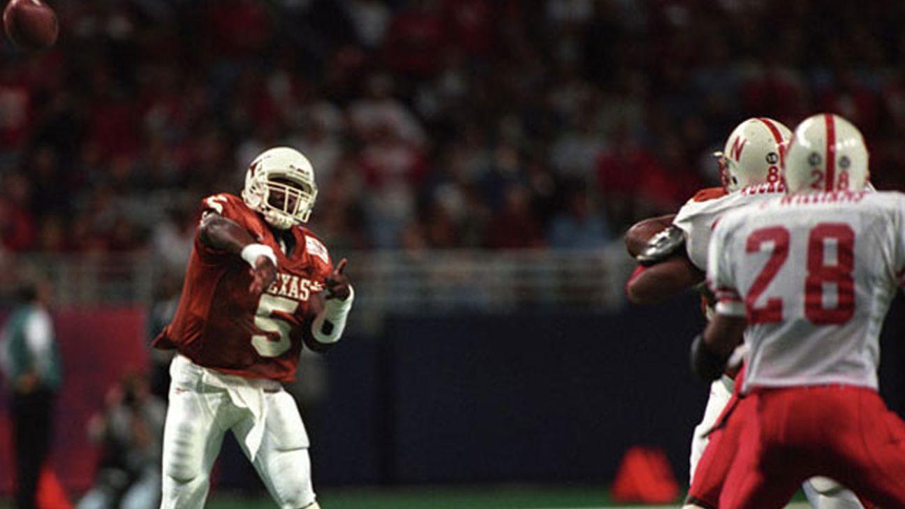 Nebraska Cornhuskers vs. Texas Longhorns - 12/07/1996 (re-air)