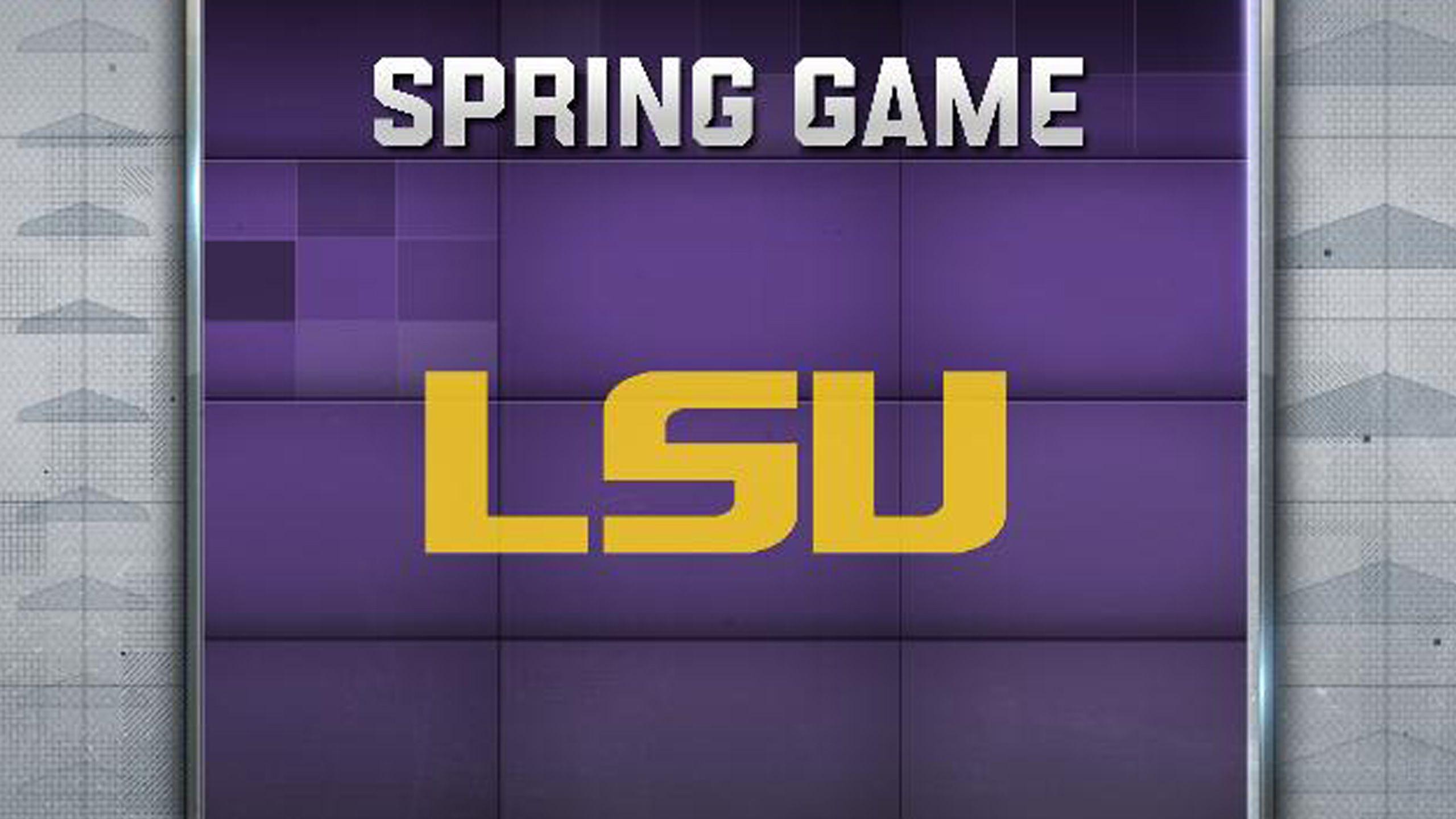 LSU Spring Football Game
