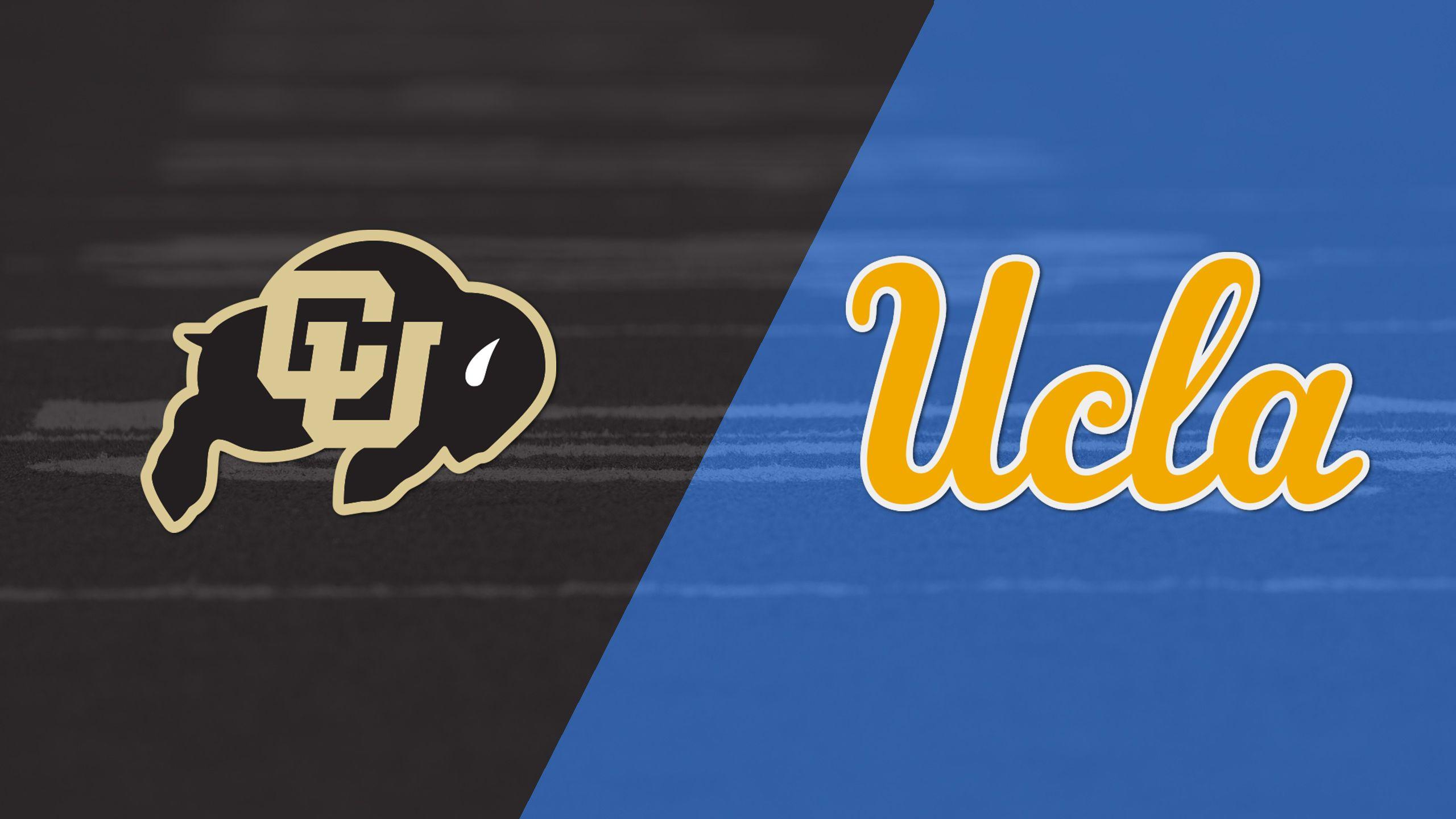 Colorado vs. UCLA (Football) (re-air)