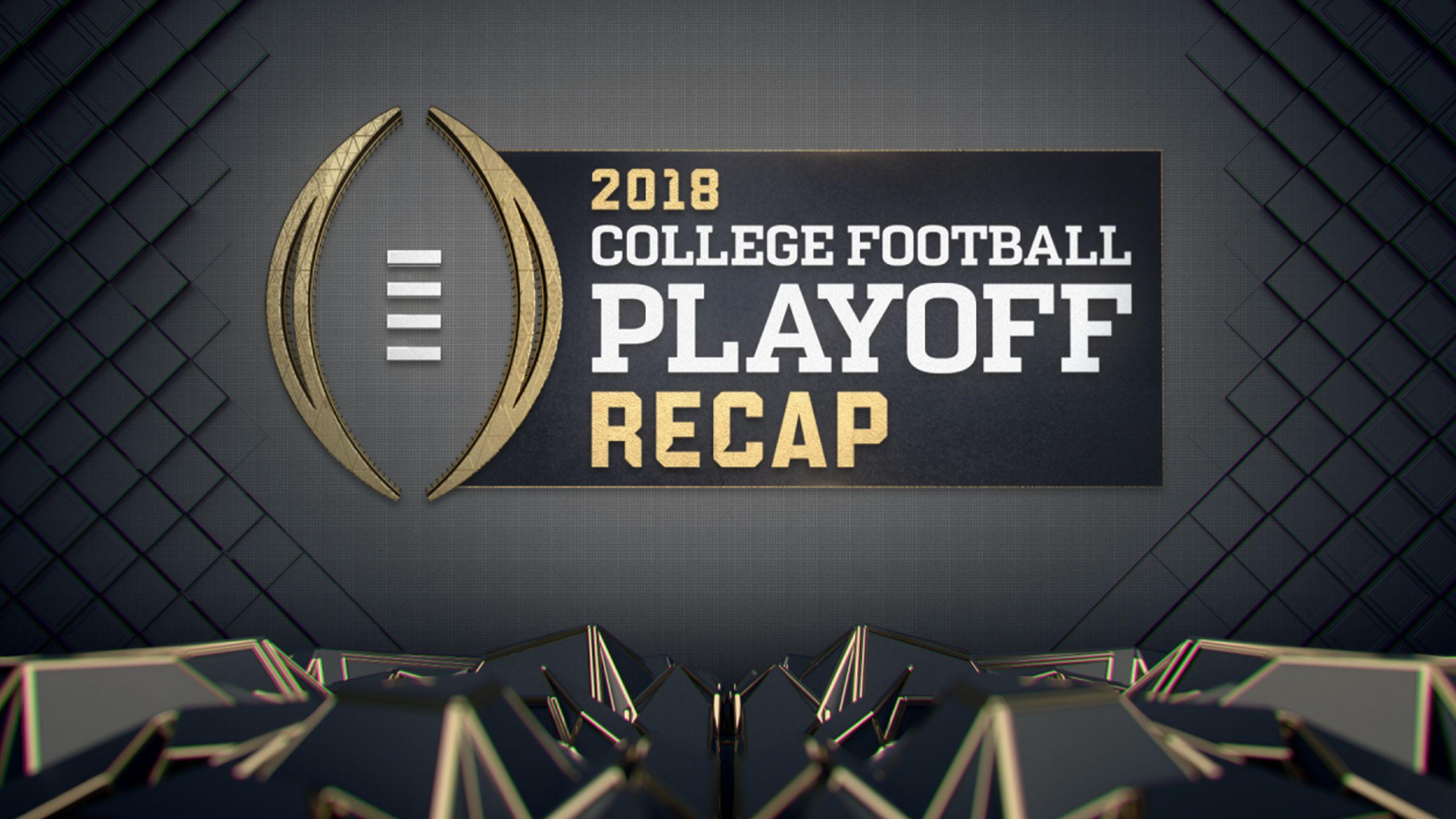 2018 College Football Playoff Recap Show
