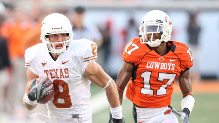 #22 Texas Longhorns vs. Oklahoma St. Cowboys - 11/03/2007 (re-air)