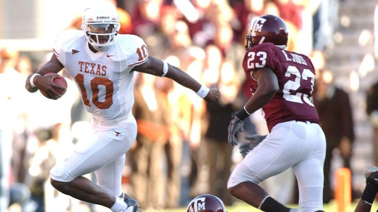 Texas Longhorns vs. Texas A&M Aggies - 11/28/2003 (re-air)