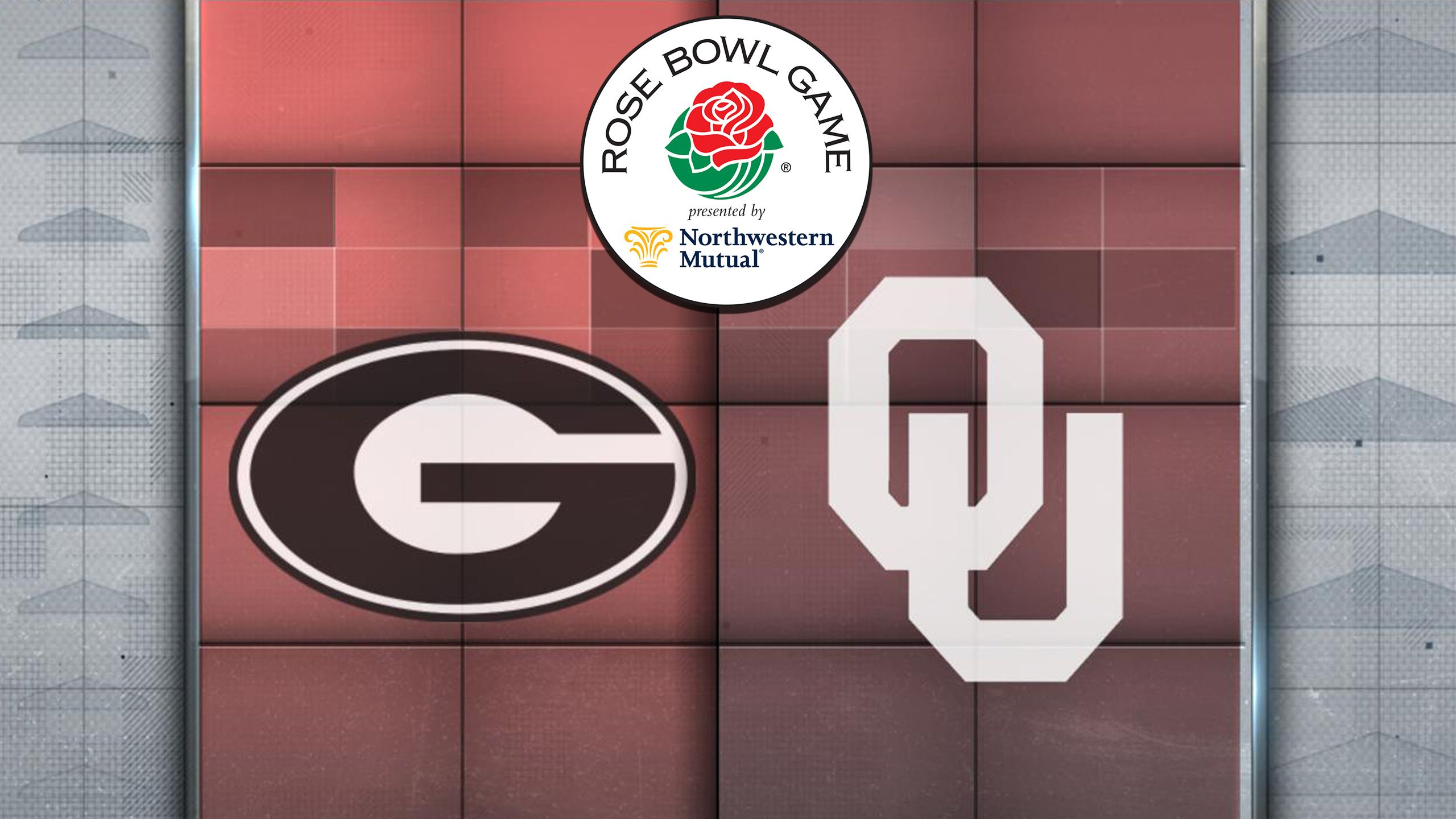 #3 Georgia vs. #2 Oklahoma (Semifinal) (Rose Bowl Game Presented by Northwestern Mutual) (re-air)