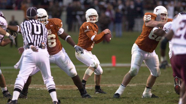 Texas A&M Aggies vs. Texas Longhorns - 11/24/2000 (re-air)