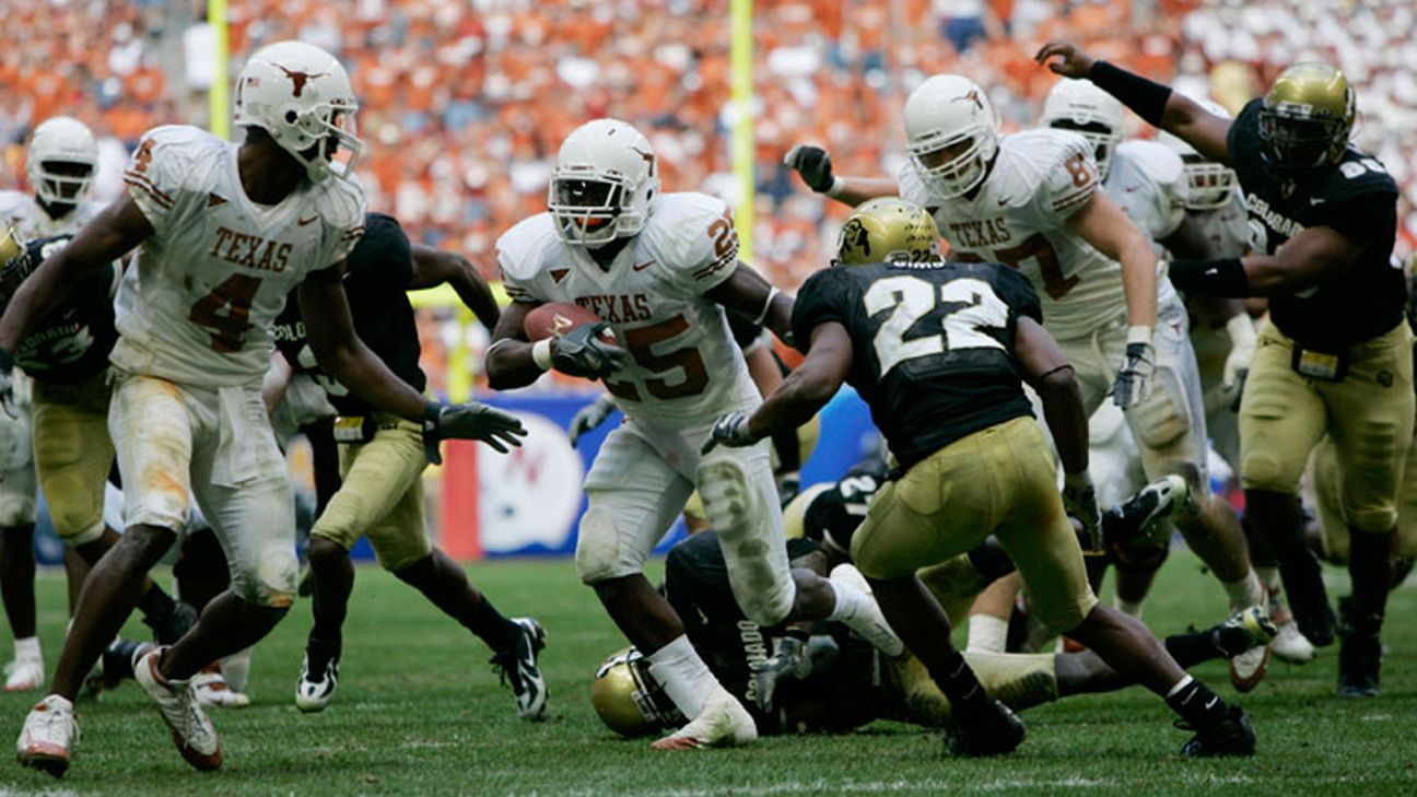 Texas Longhorns vs. Colorado Buffaloes - 12/3/2005 (re-air)