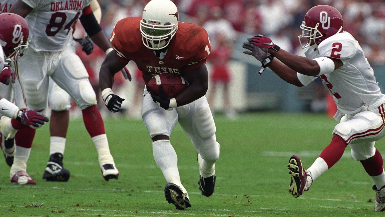 Texas Longhorns vs. Oklahoma Sooners - 10/11/1997 (re-air)