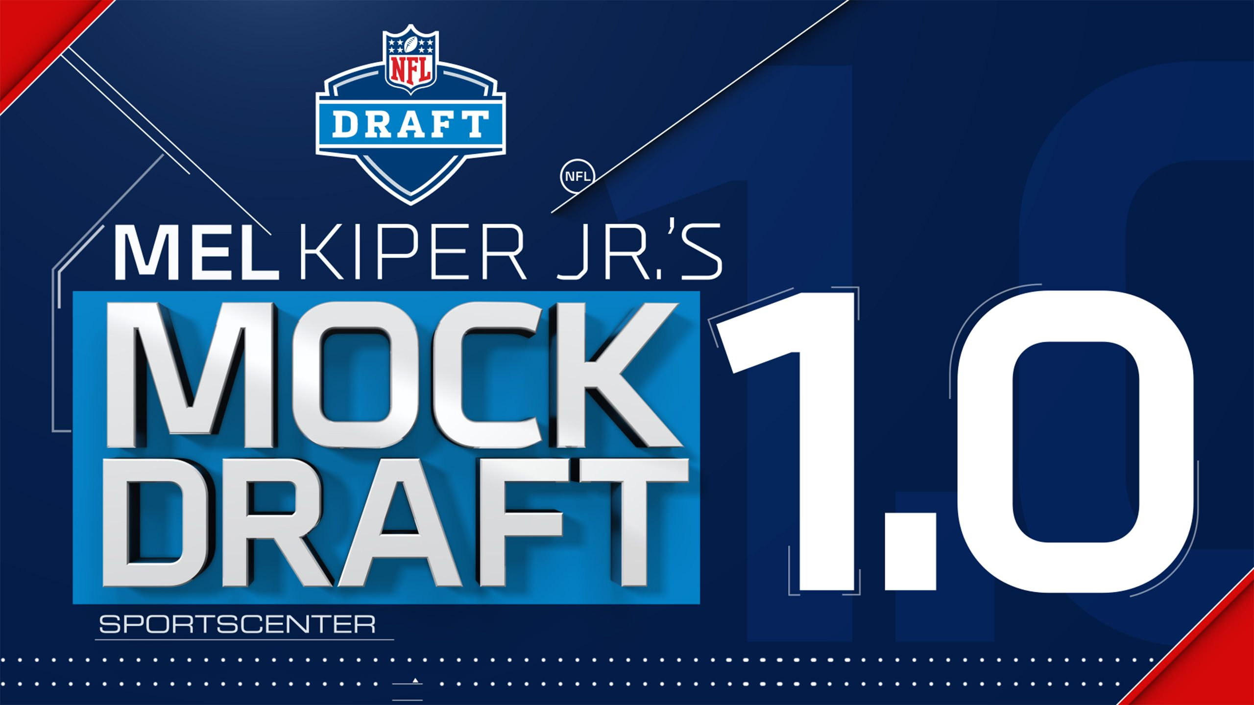 SportsCenter Special: Mel Kiper's NFL Mock Draft 1.0