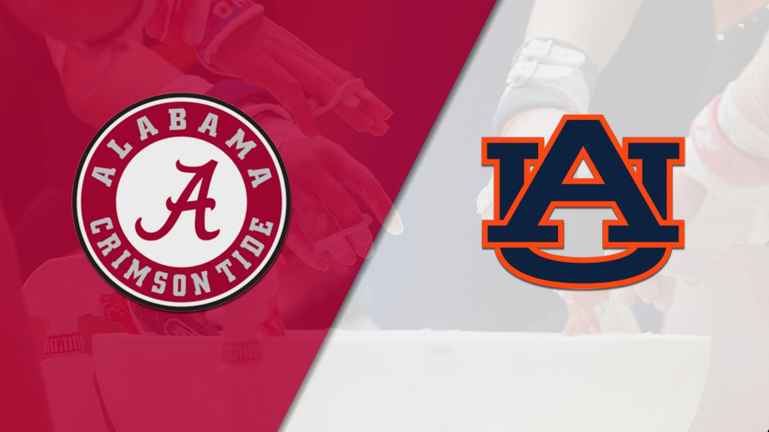 Alabama vs. Auburn (W Gymnastics) (re-air)
