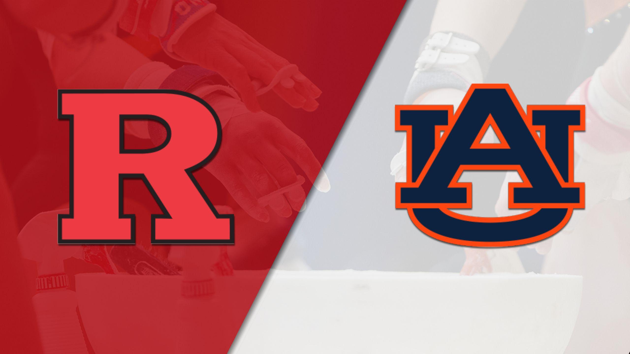 Rutgers vs. Auburn (W Gymnastics)